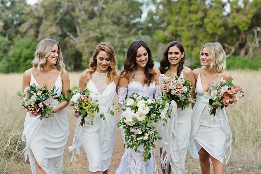 best wedding bouquets 2016 - modern bridesmaid bouquets