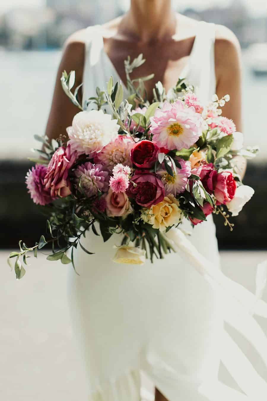 best wedding bouquets 2016 - pink peony bouquet