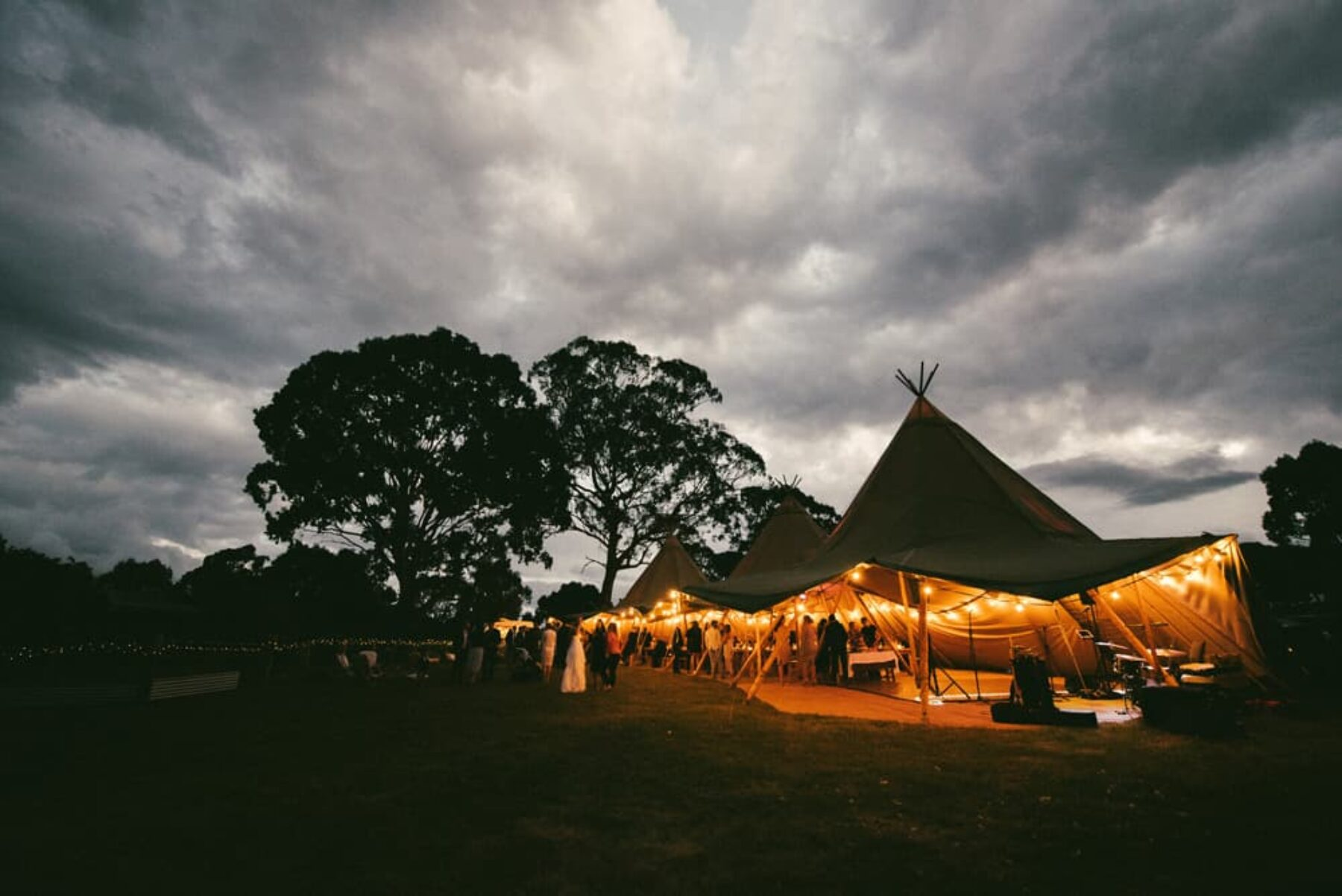 boho tipi wedding