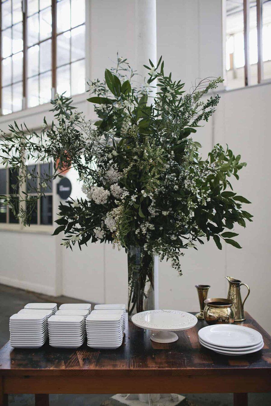 Industrial wedding at Laurens Hall North Melbourne