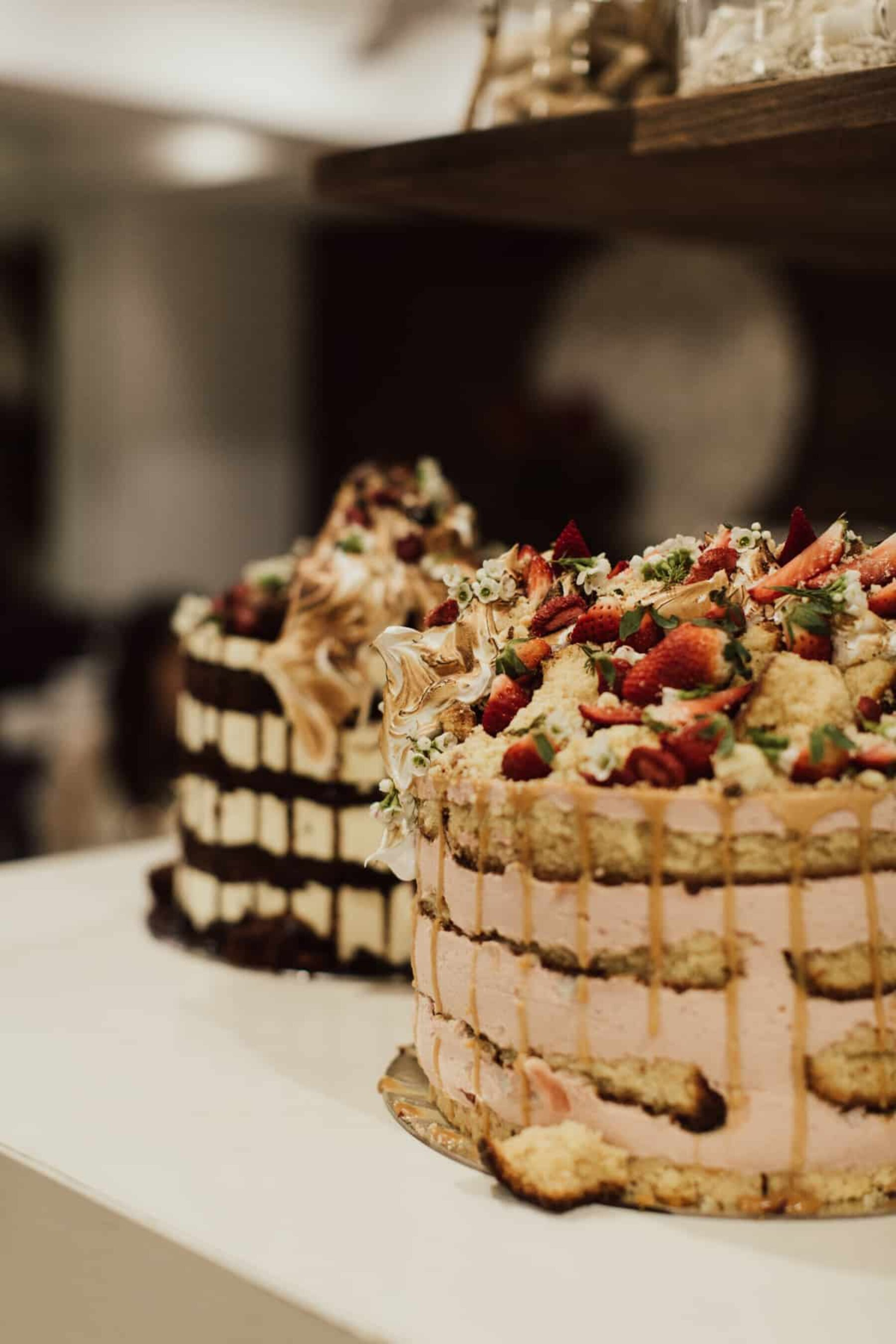 epic wedding cakes by Andy Bowdy