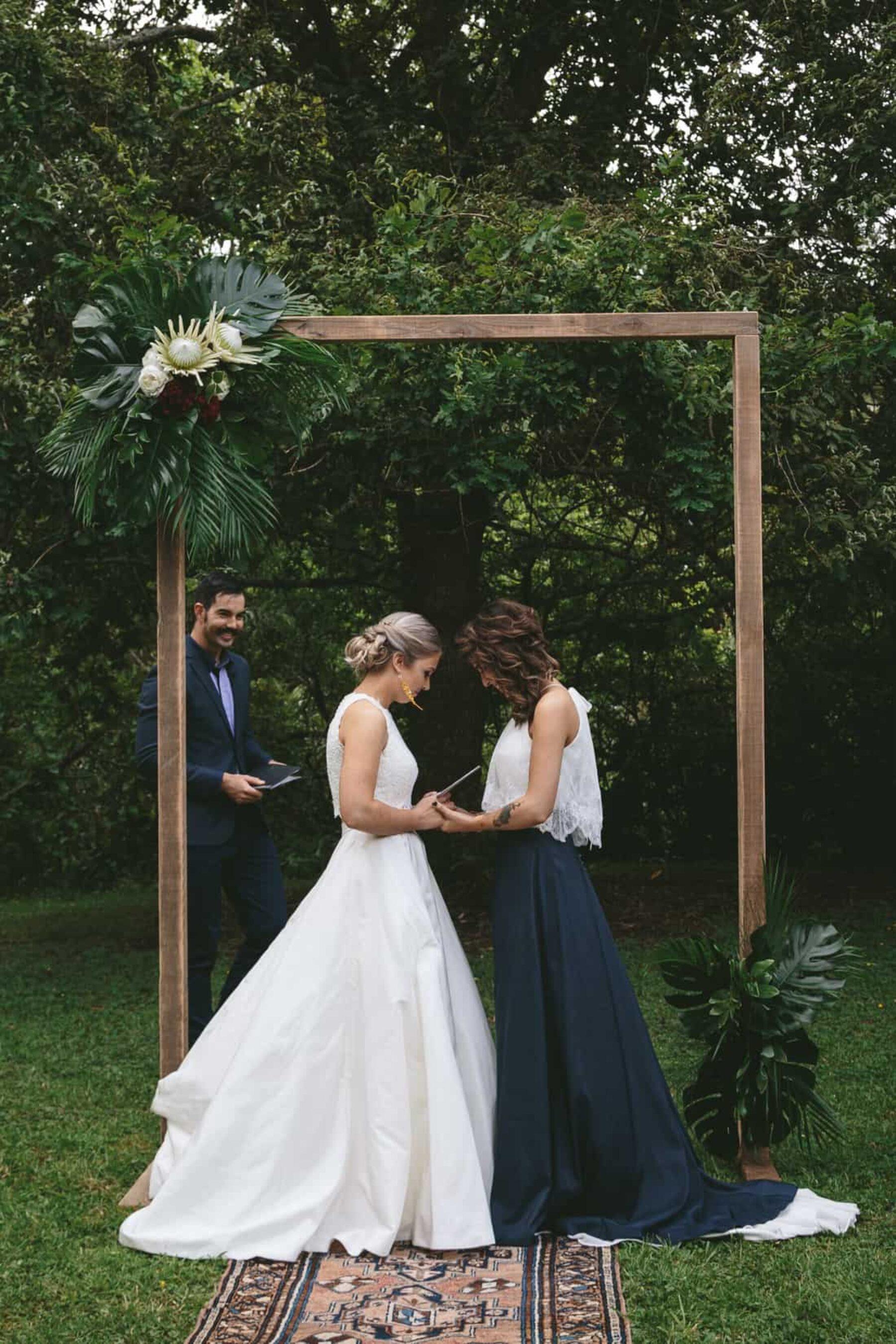 Waitakere Ranges wedding Auckland