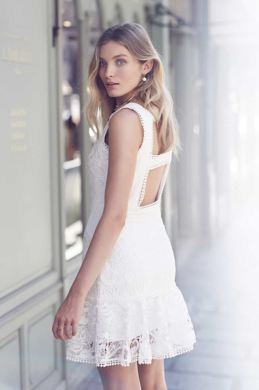 Knowles short wedding dress by One Day Bridal