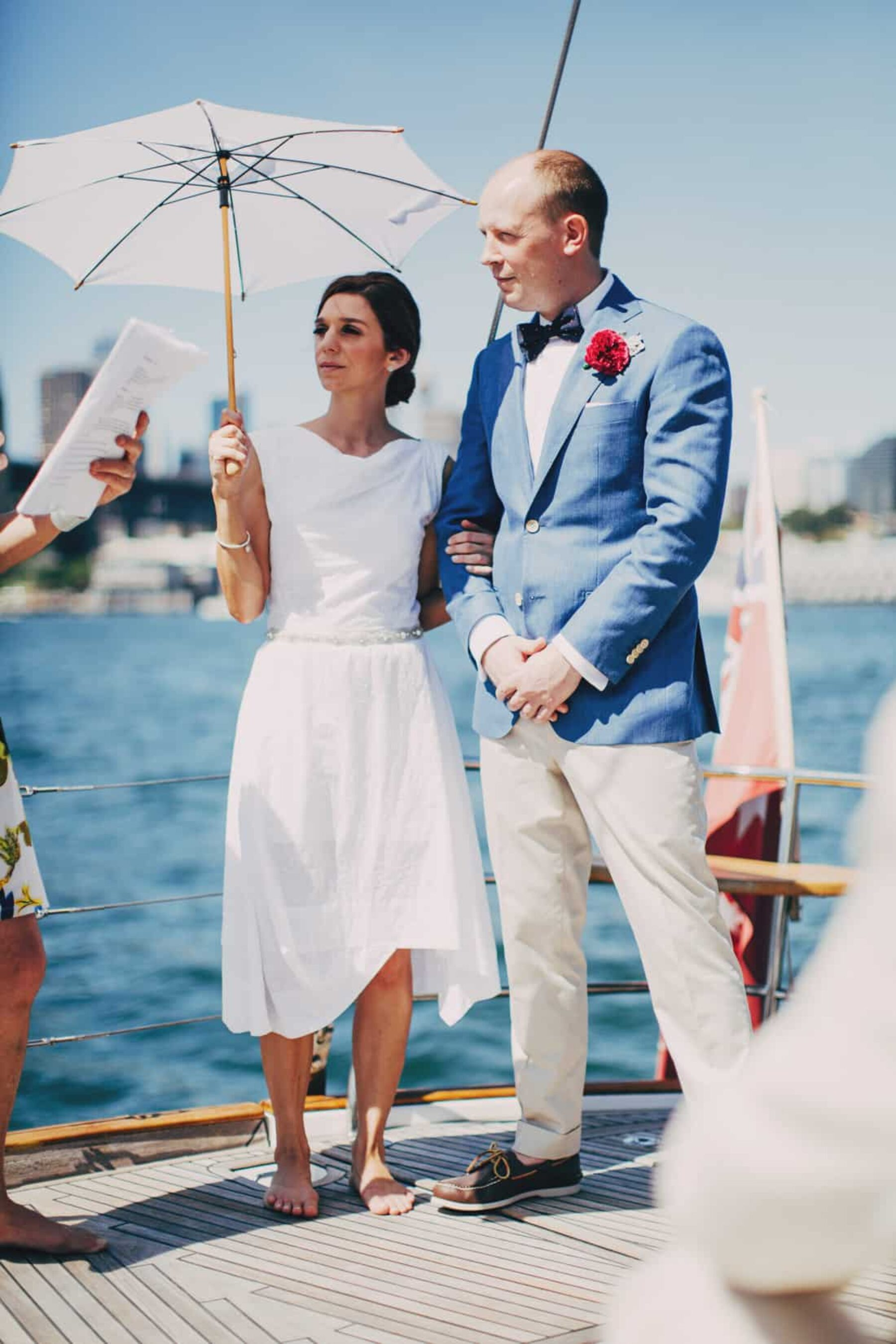 Sydney Harbour yacht wedding
