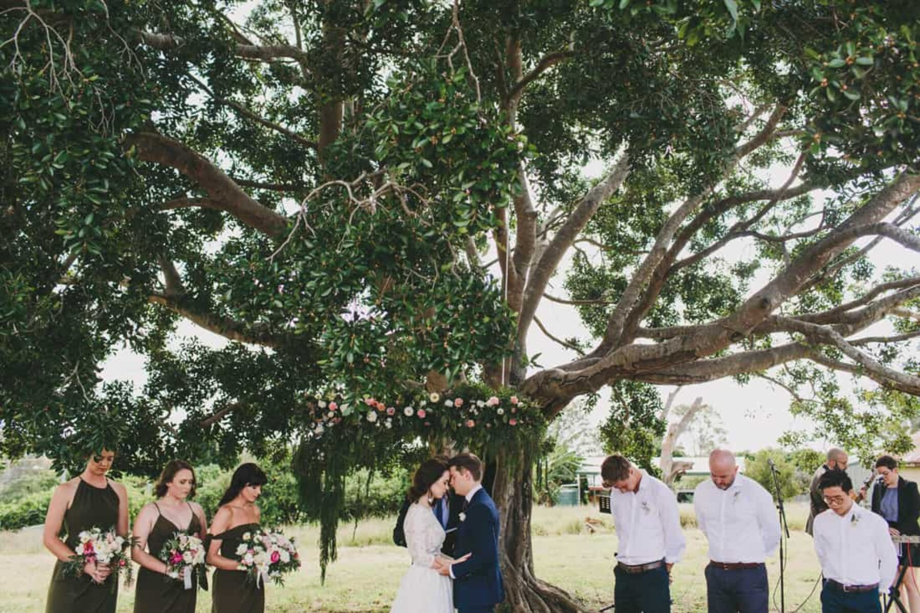 bohemian backyard wedding- Jazzy Connors Photography
