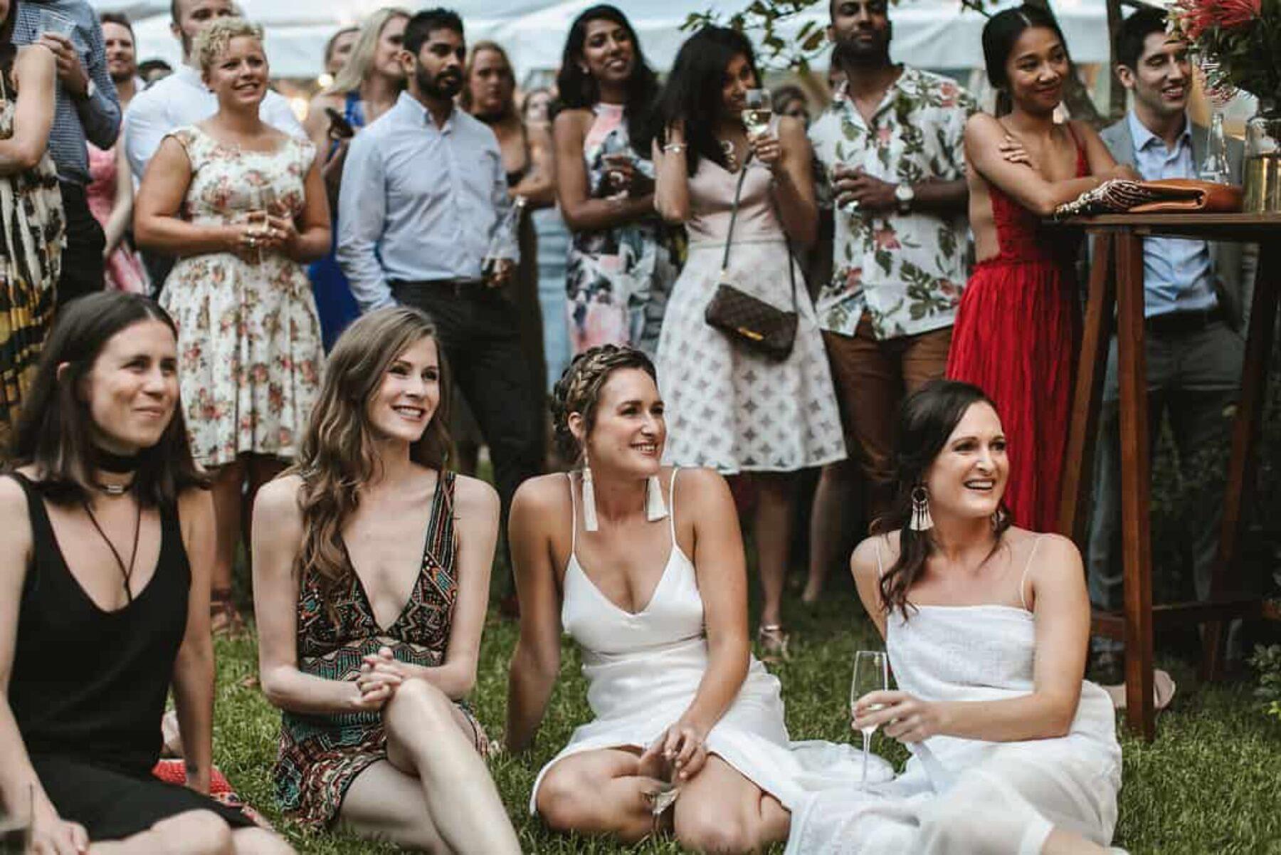 boho backyard wedding in Kangaroo Valley NSW - photography by Jimmy Raper