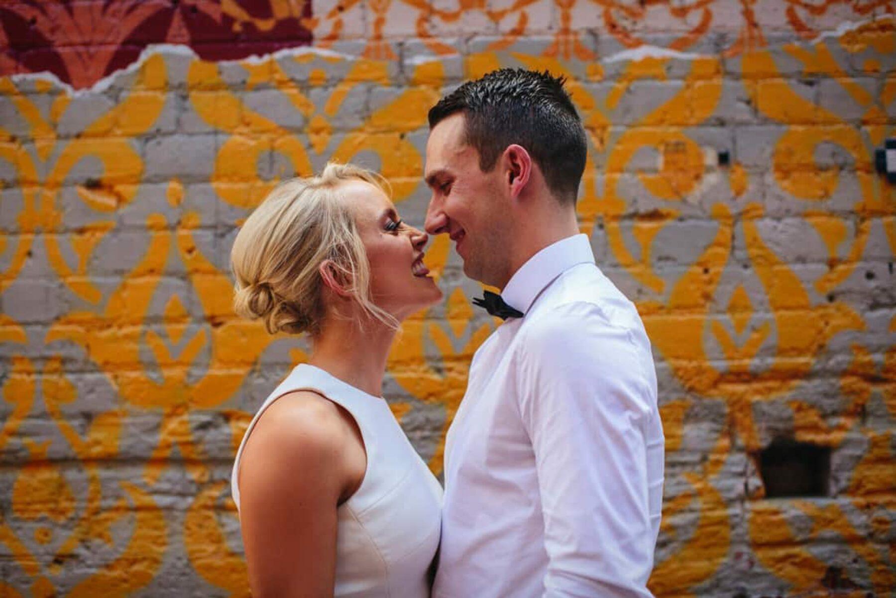 modern vibrant wedding Perth WA