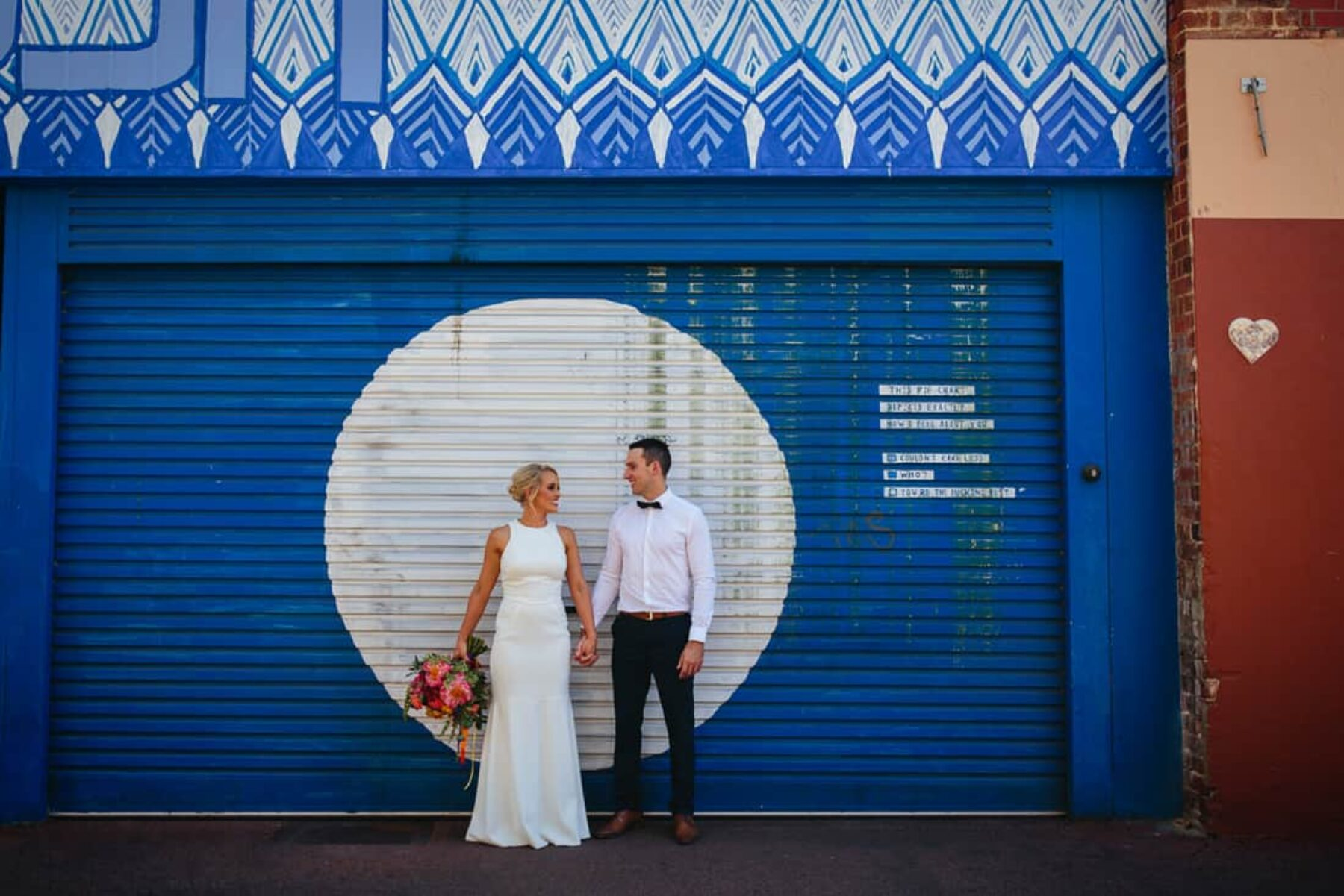 modern vibrant wedding Perth WA