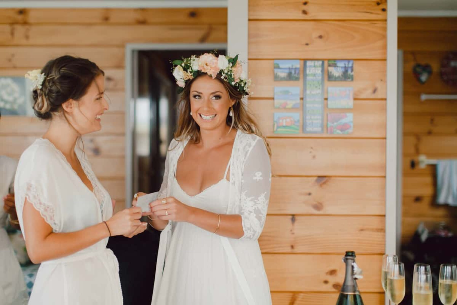Vintage boho wedding at Old Forest School New Zealand