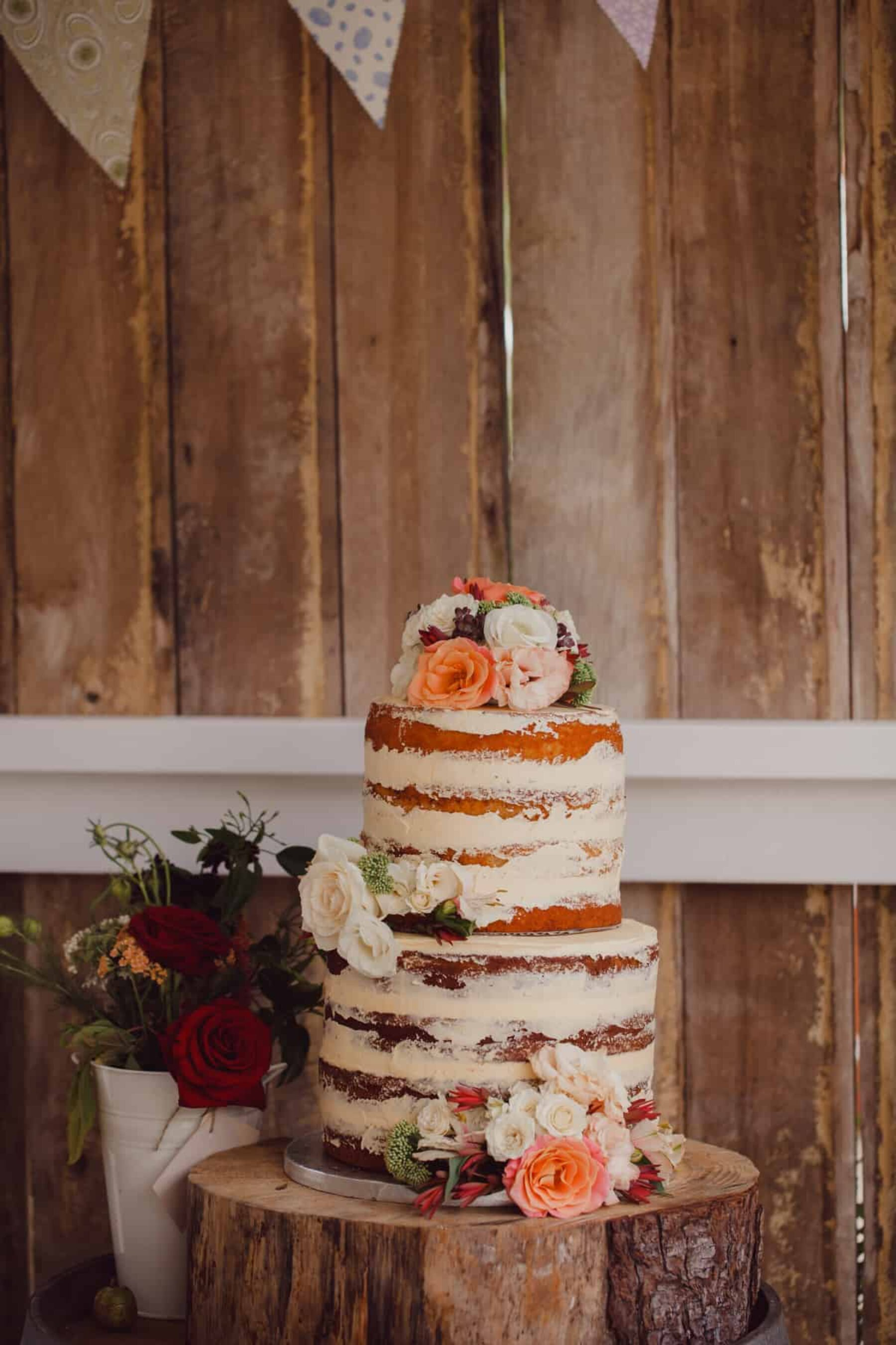 nearly naked layer cake