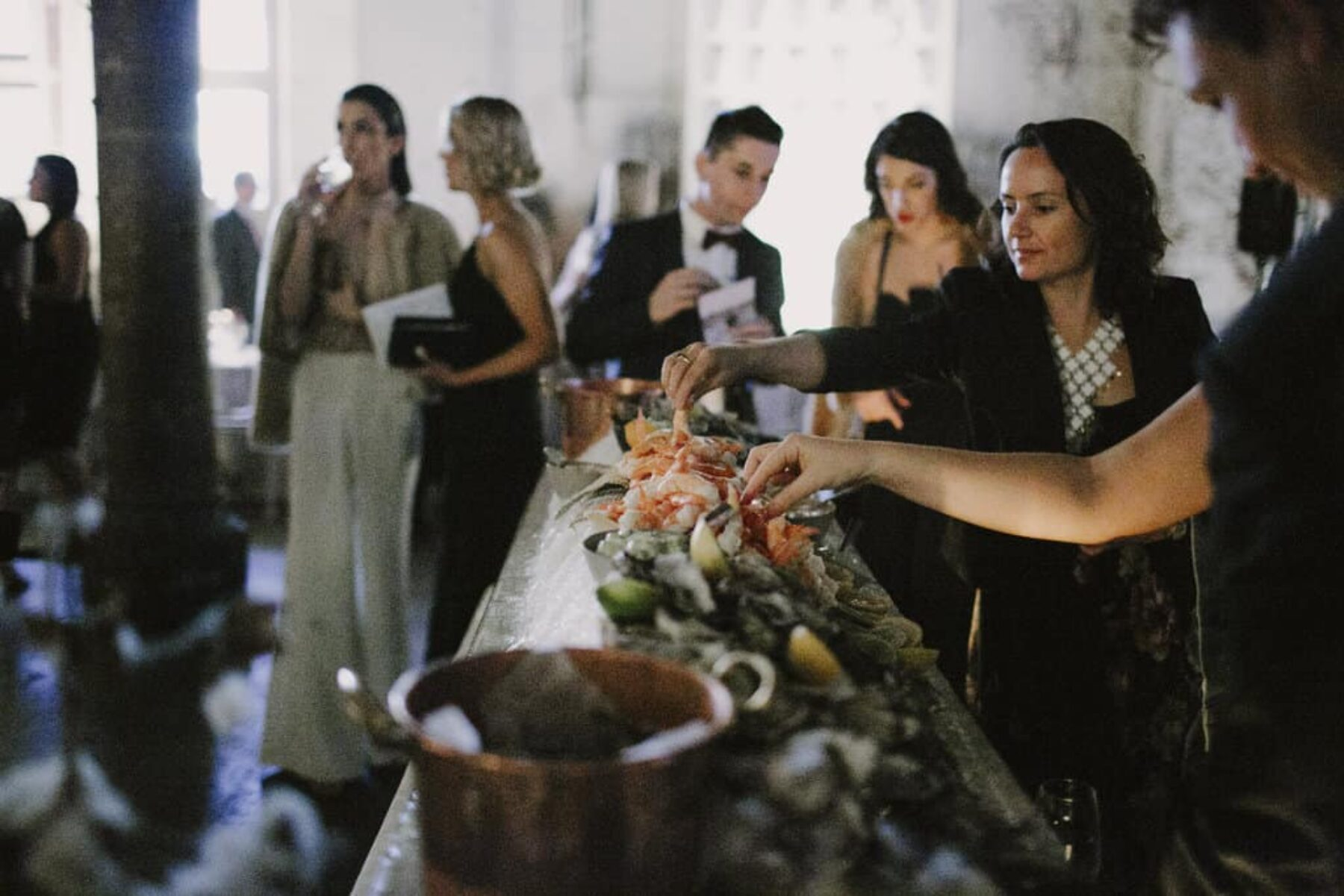 Carriageworks wedding styled by Lisa Madigan
