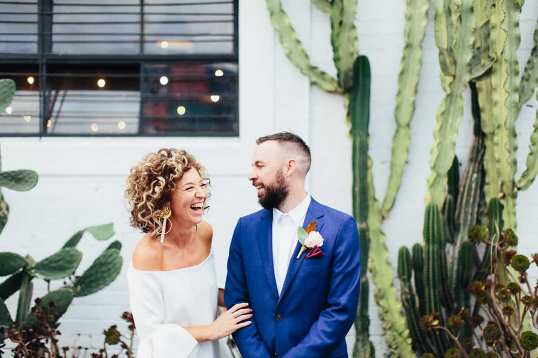 edgy Melbourne wedding at Gather & Tailor
