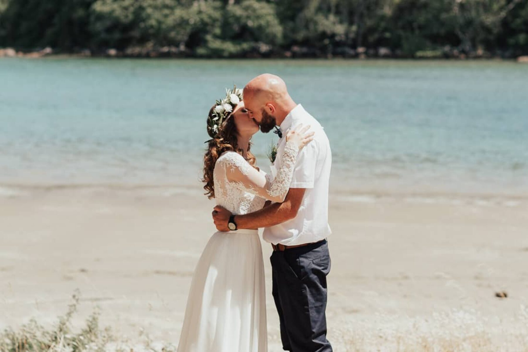 Whangamata Estuary wedding New Zealand