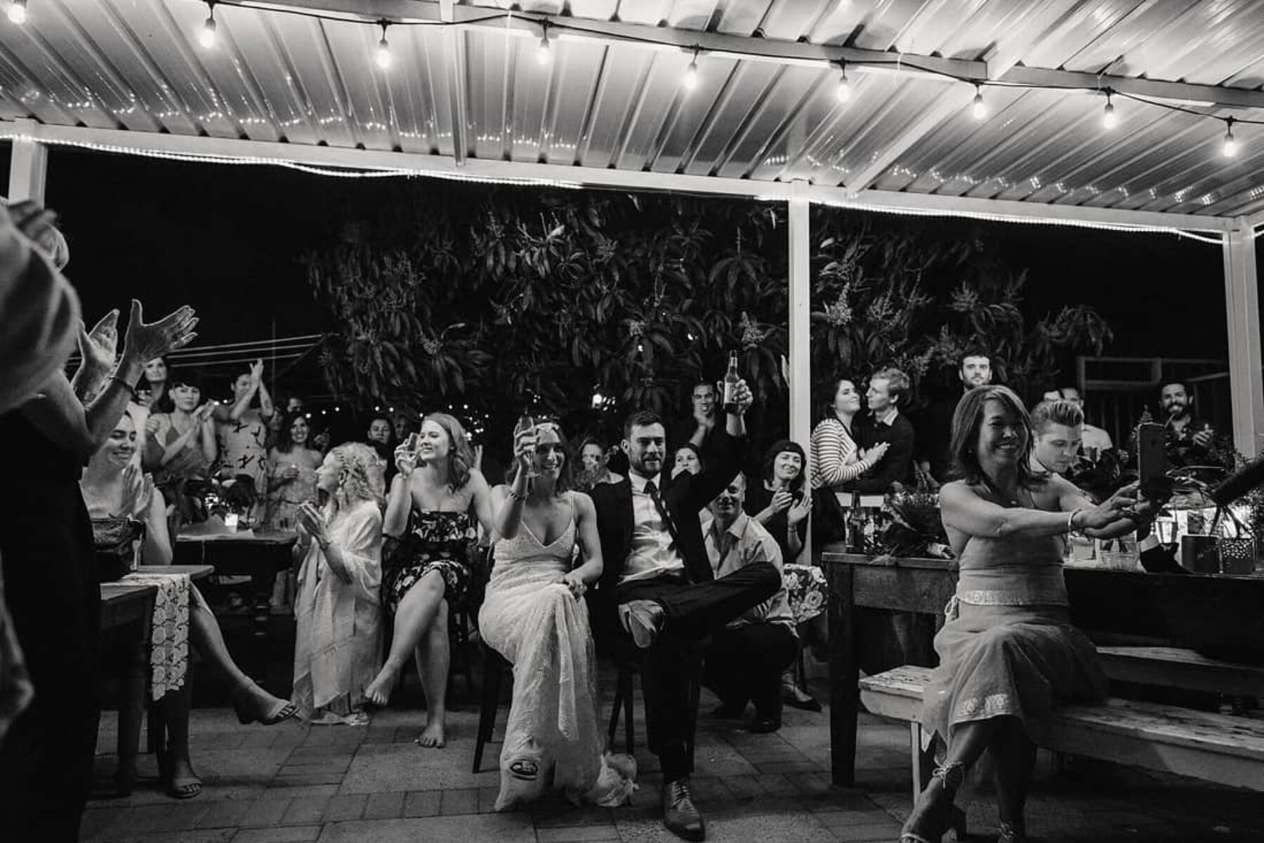 relaxed Perth backyard wedding - CJ Williams Photography
