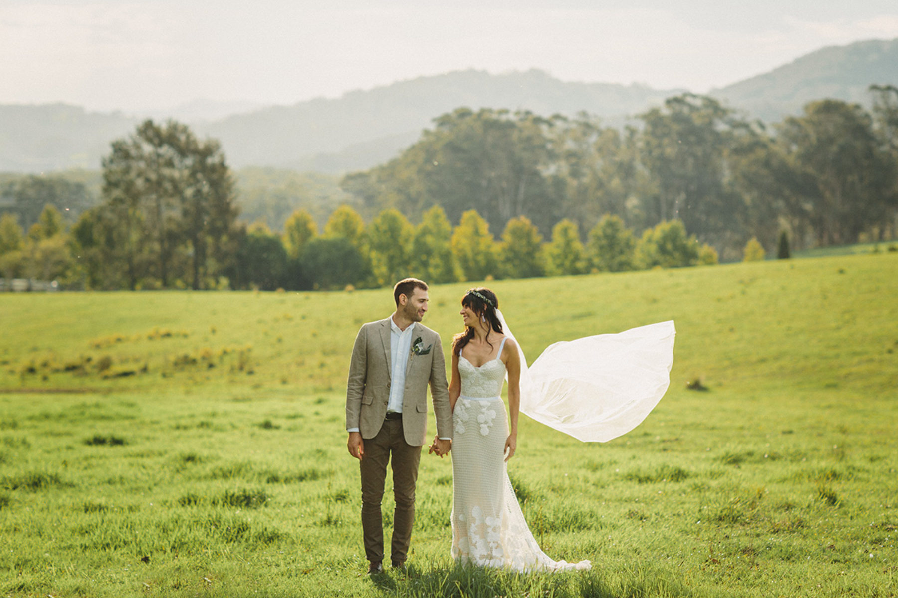 Across the Forest - candid wedding photography Southern Highlands NSW