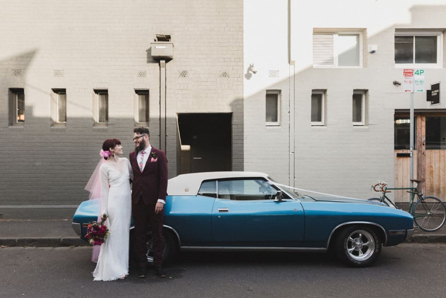 Industrial wedding at Rupert on Rupert, Collingwood