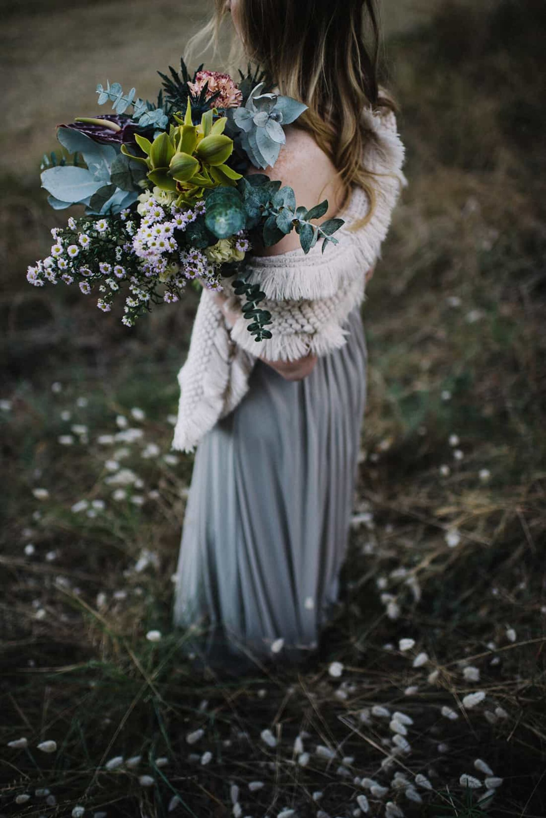 wild unstructured bouquet