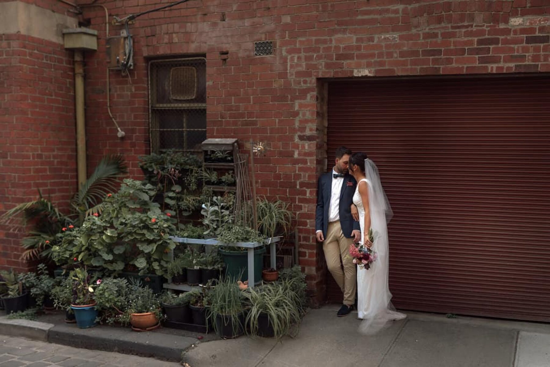 Melbourne laneways wedding by Free the Bird Photography