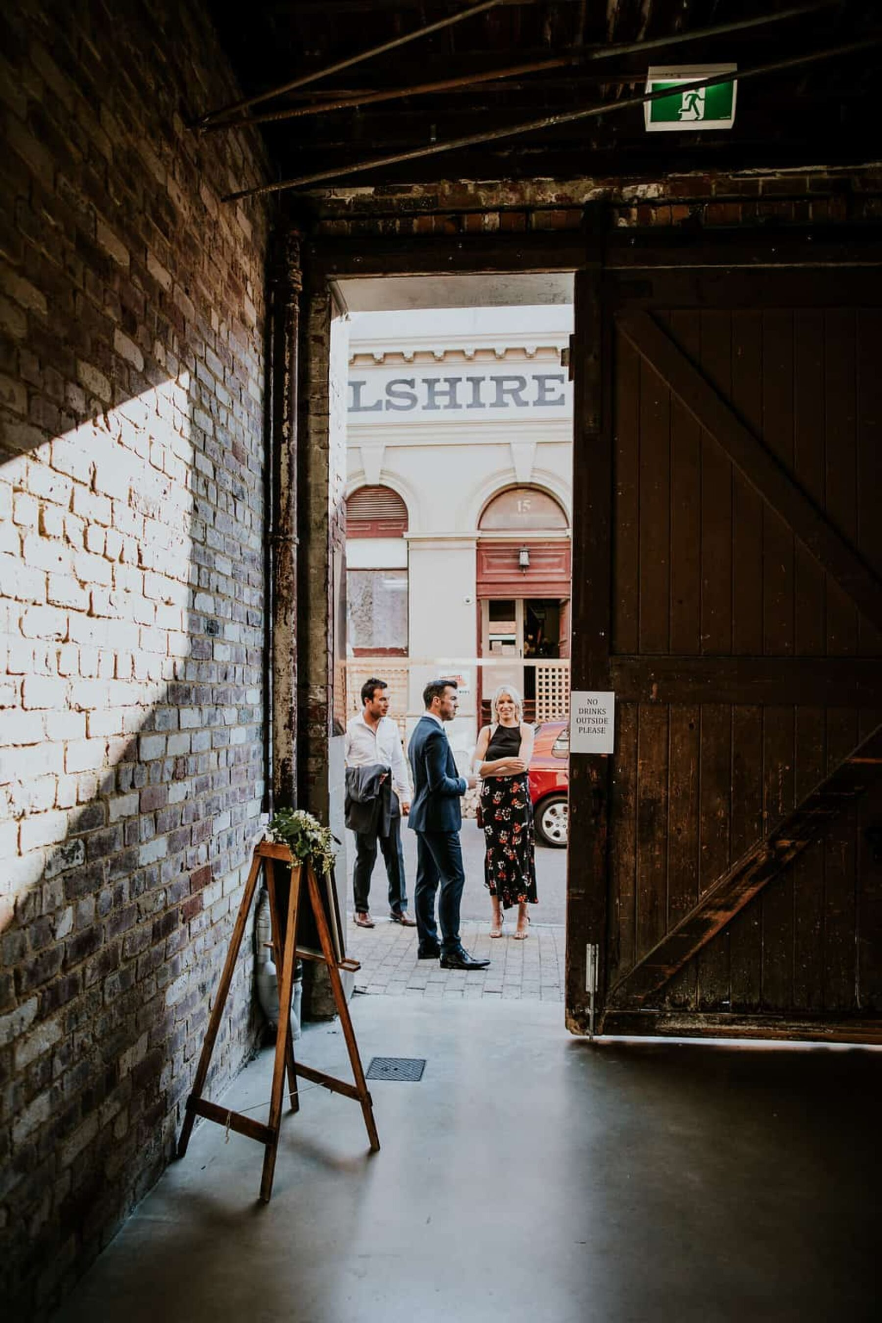 Industrial Fremantle wedding at PSAS - Liz Jorquera Photography