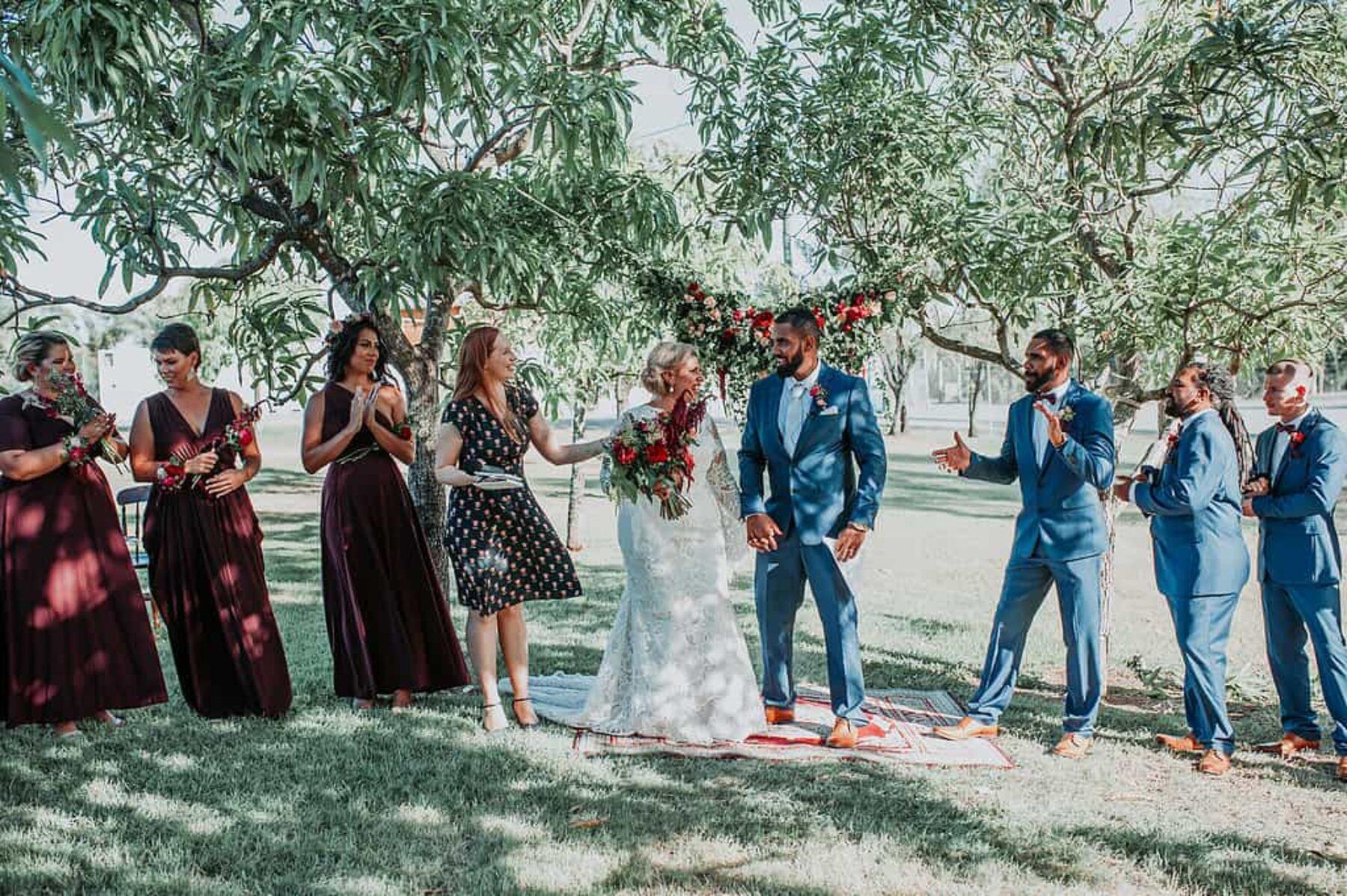 Shaye tyrones rockhampton backyard bash nouba shaye vibrant backyard wedding in rockhampton qld dani drury photography junglespirit Gallery