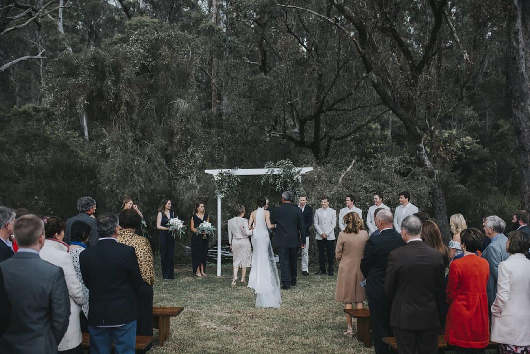 Stylish Pemberton wedding at Clover Cottage