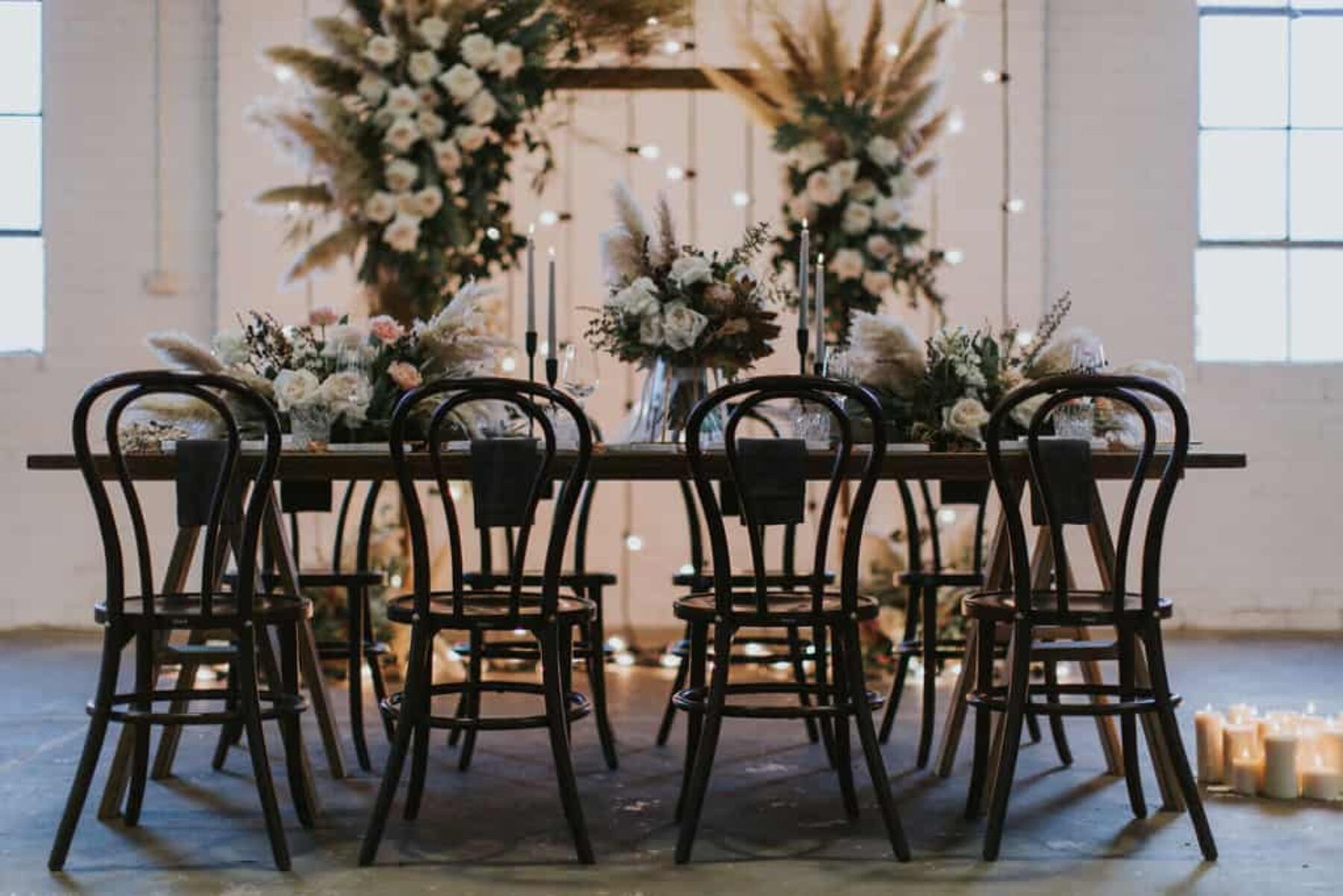 industrial-luxe wedding inspiration at Stackwood in Fremantle