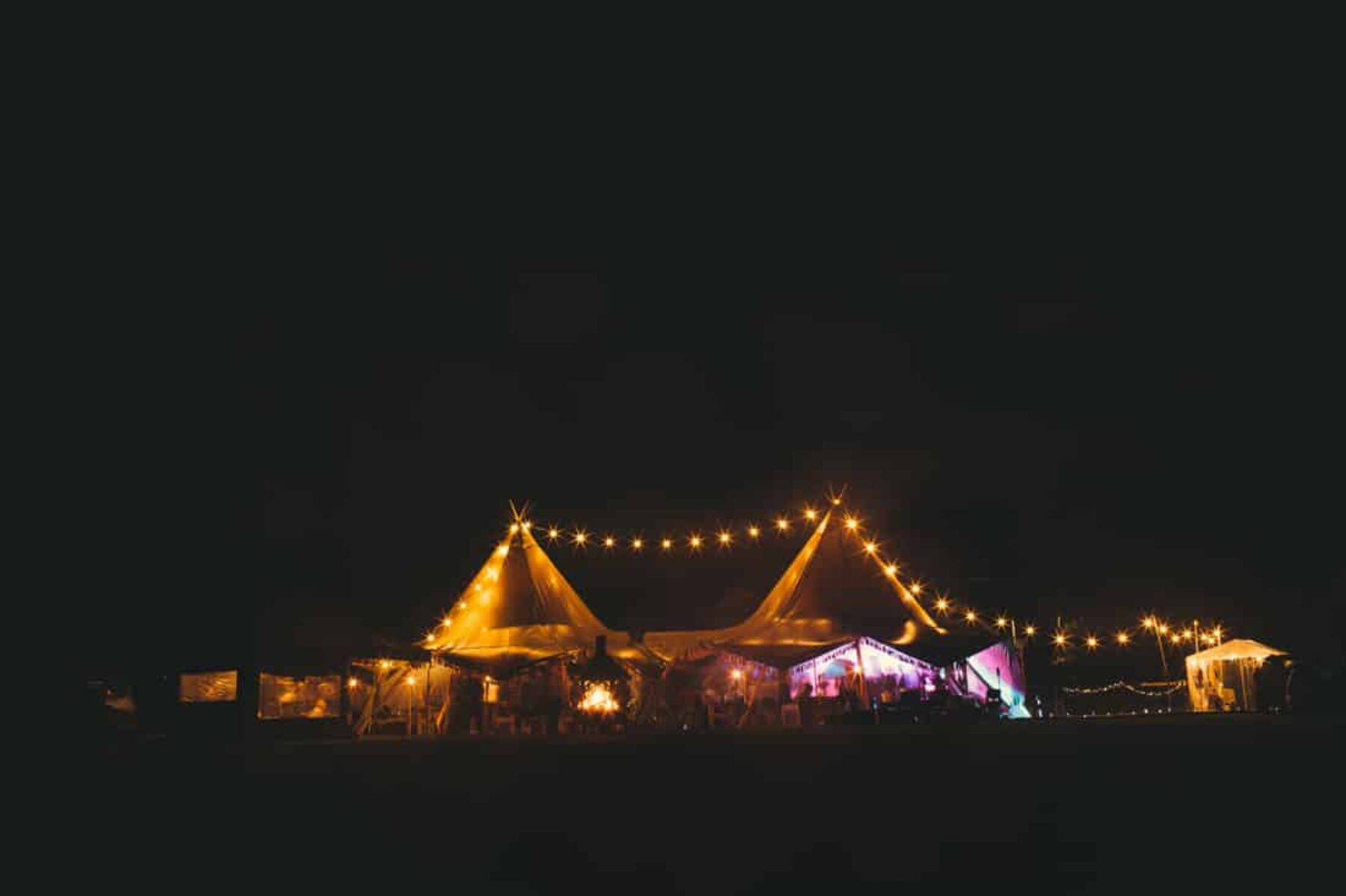 boho festival tipi wedding