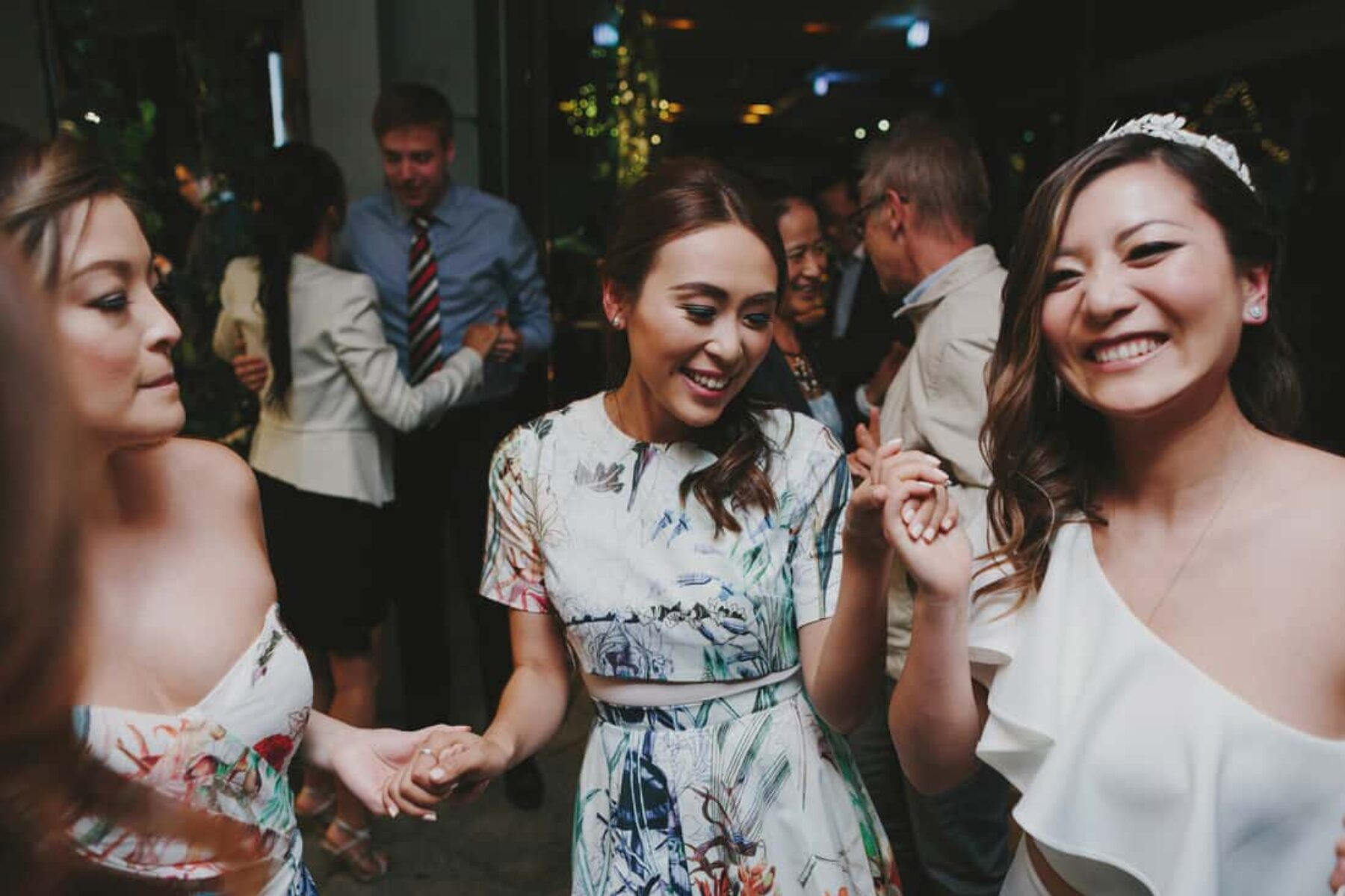 modern + colourful wedding at Jardin Tan, Melbourne