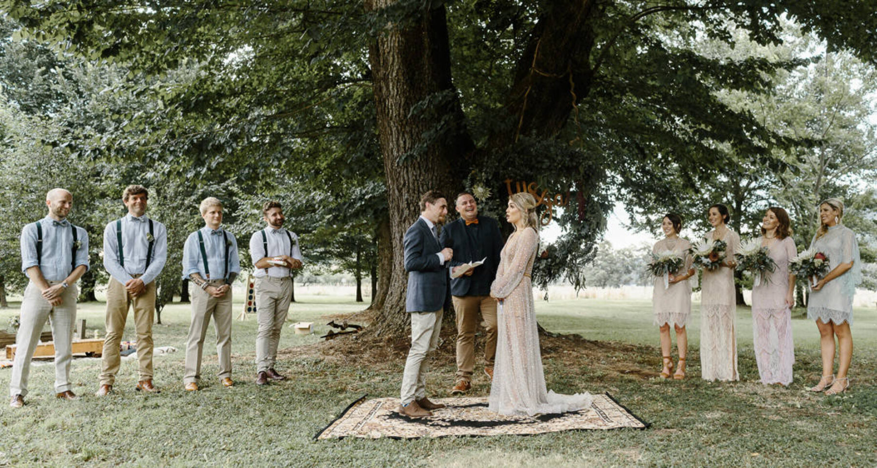 Outback festival wedding in Bright, Victoria - Photography by Oli Sansom