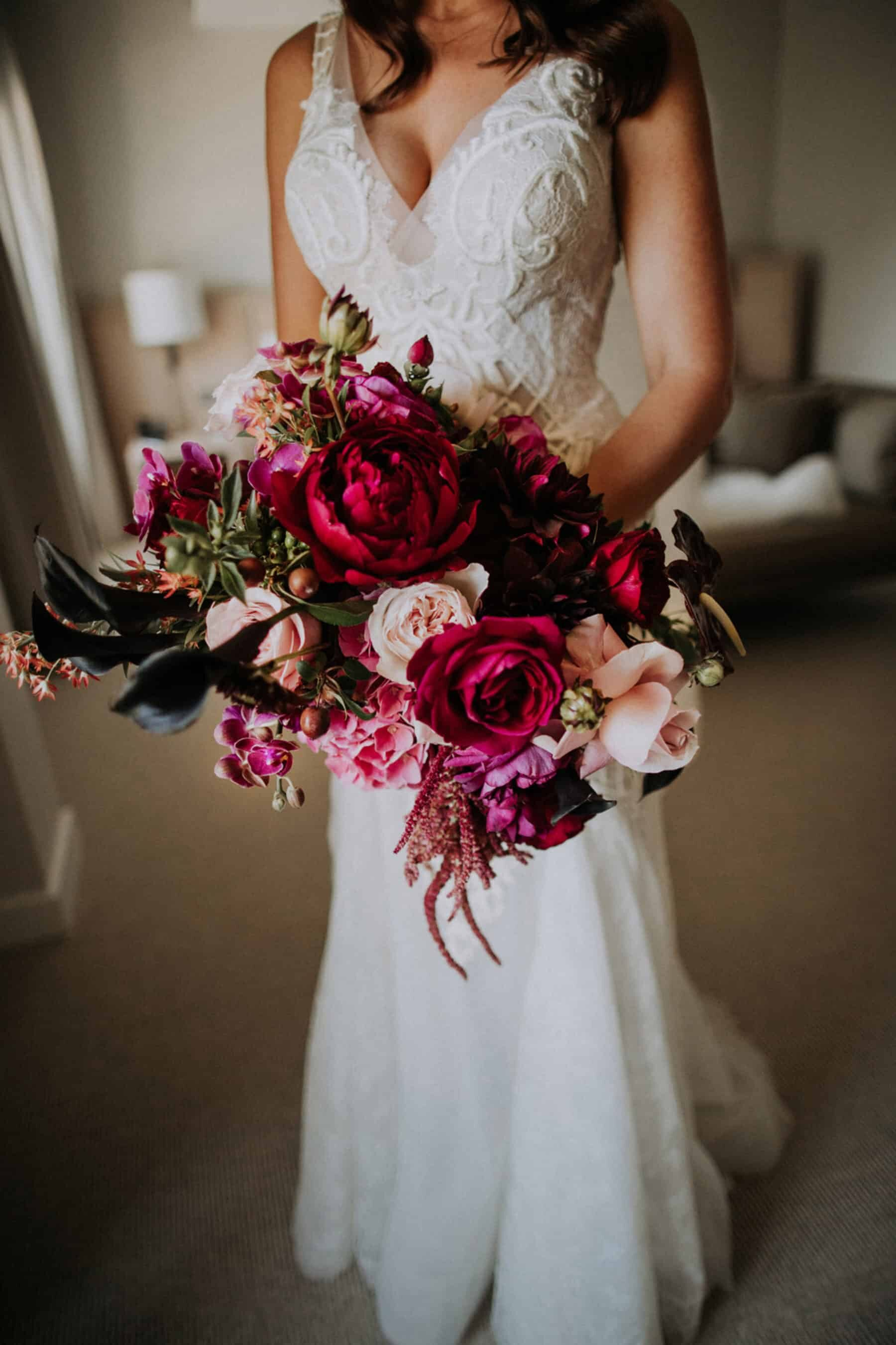 Best of 2017: bouquets | blush and burgundy
