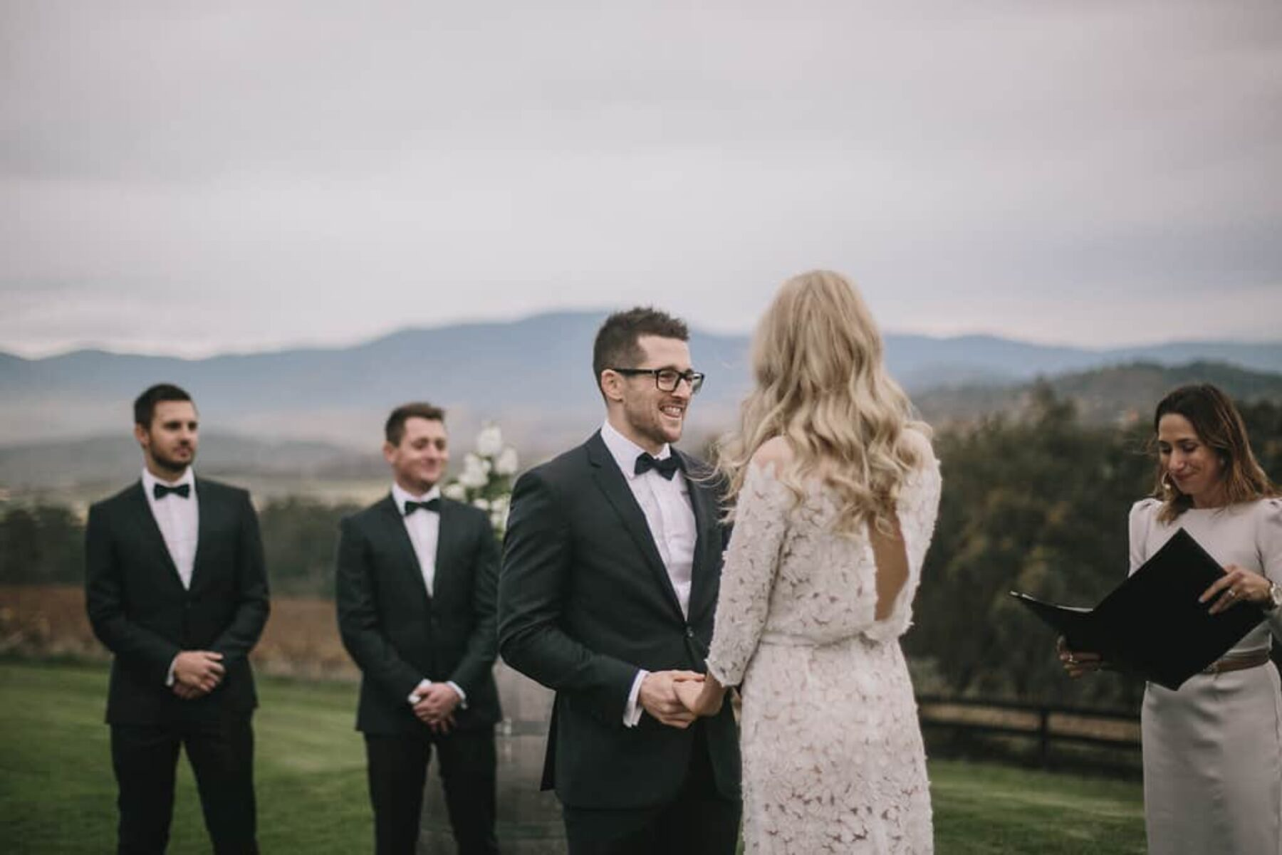 Modern and elegant wedding at The Riverstone Estate, Yarra Valley