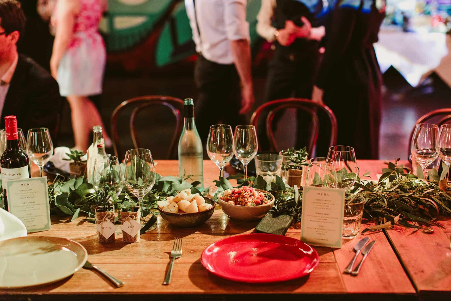 Eclectic Adelaide wedding at The Published Arthouse - photography by Kate Pardey