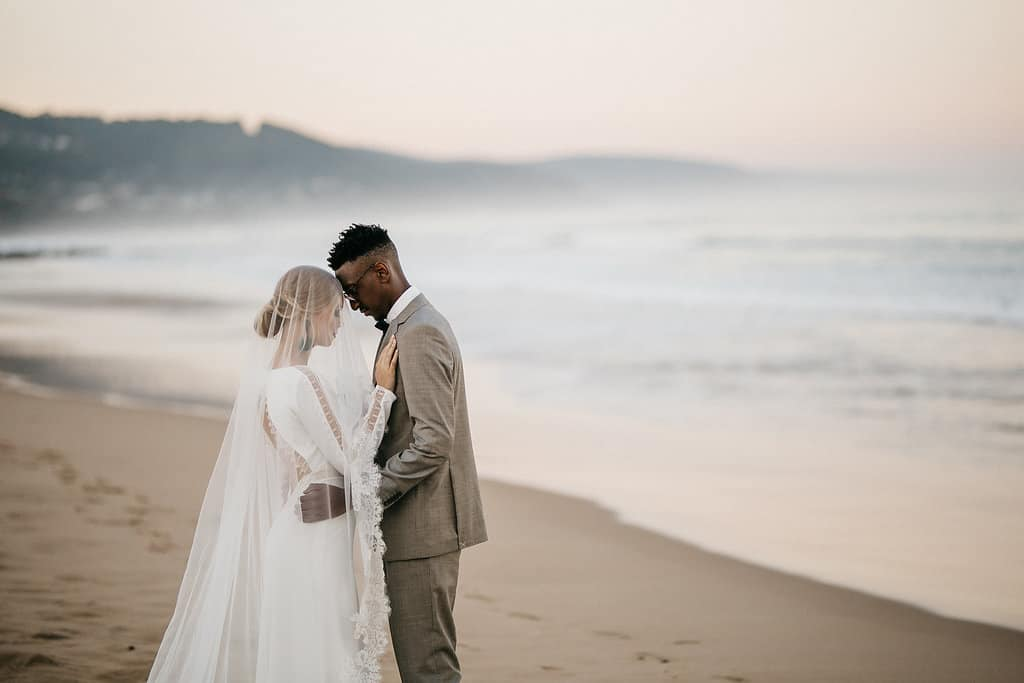 Beach wedding in Lorne, Victoria