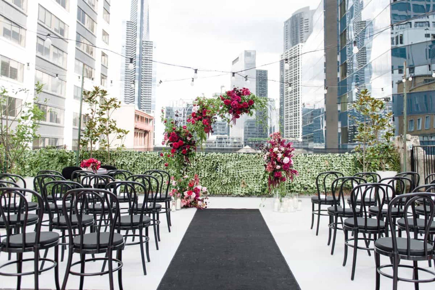 Rooftop wedding Melbourne