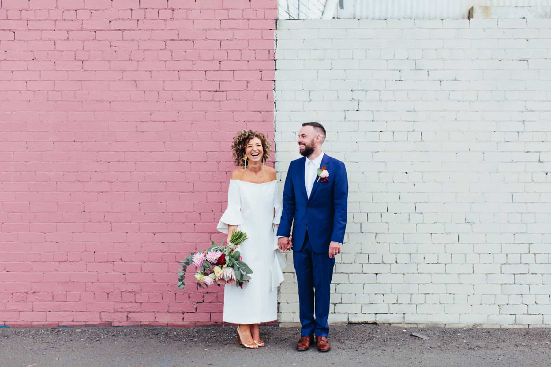 Top 10 weddings of 2017 | Georgia & Brent's Warehouse Wedding at Gather & Tailor