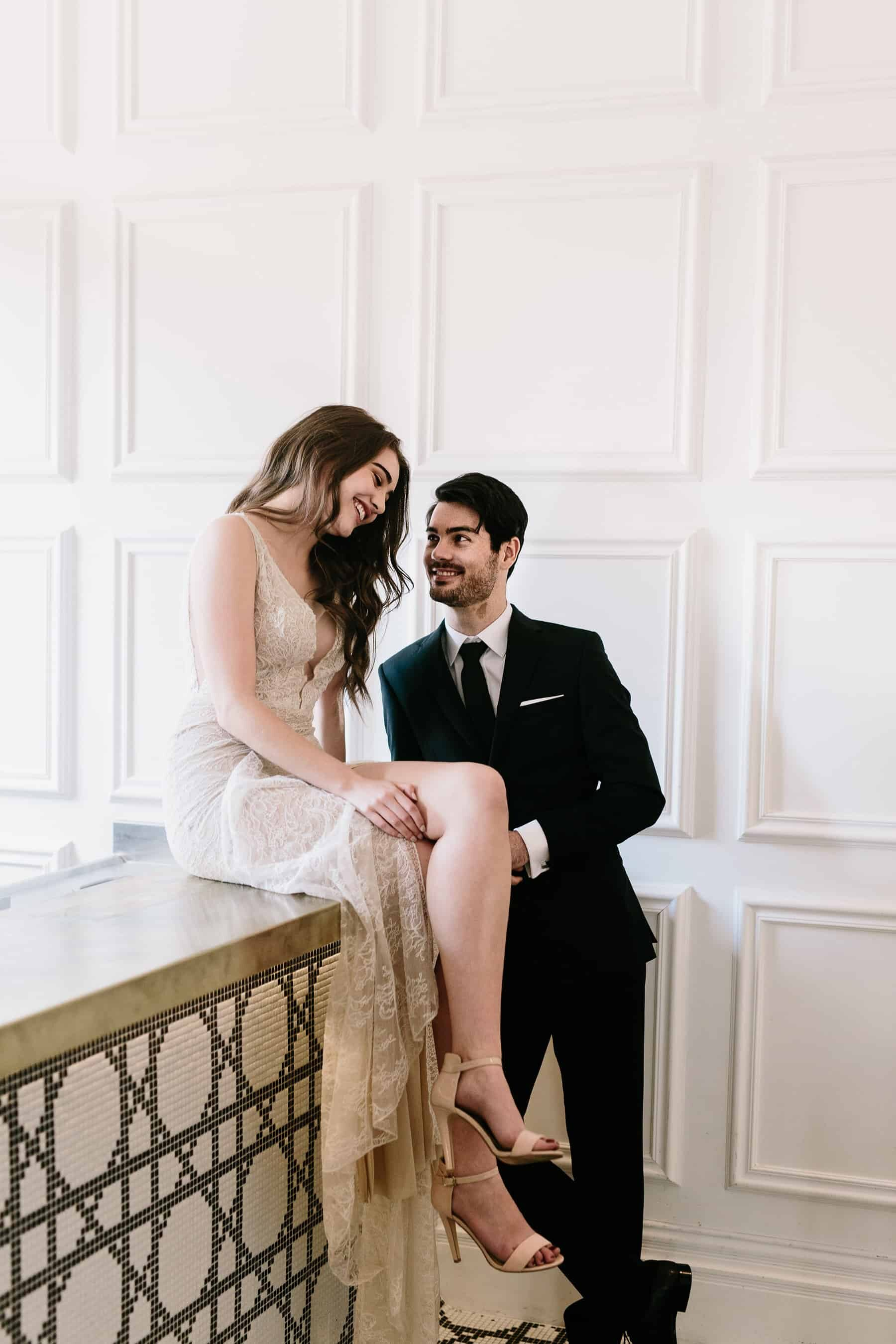 Modern Italian wedding inspiration in Melbourne