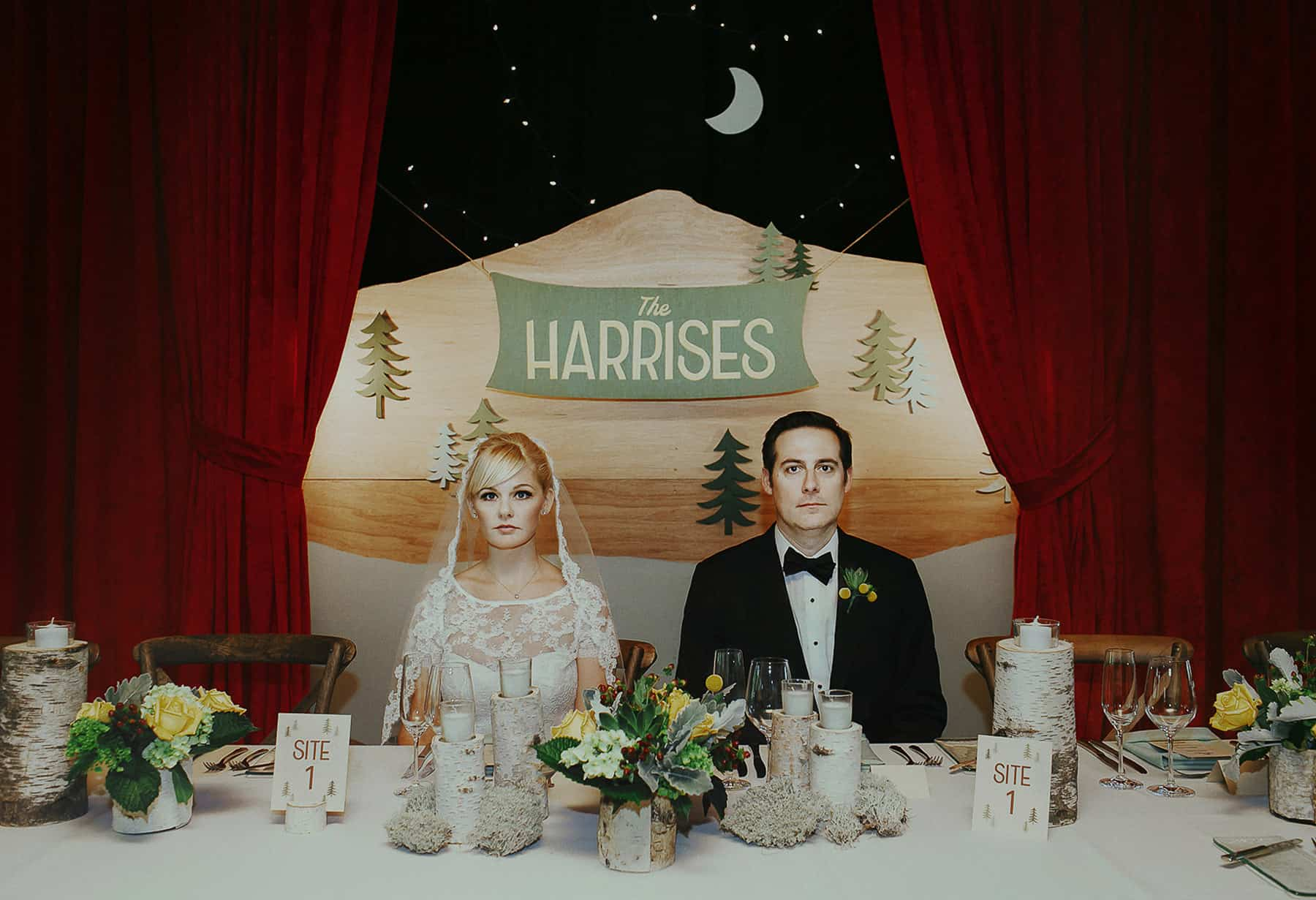 Wes Anderson inspired wedding - photography by Oli Sansom