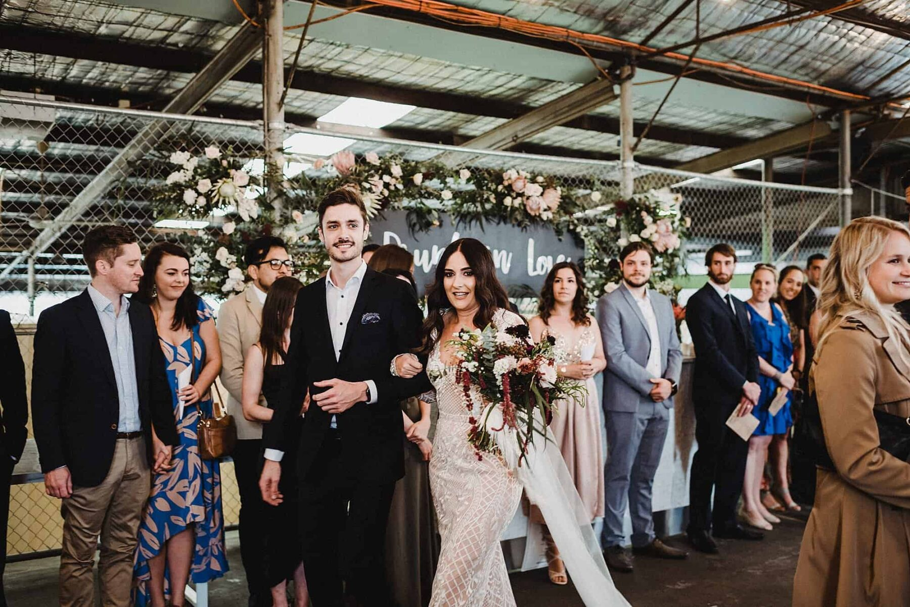 glam warehouse wedding at Fremantle's Stackwood - CJ Williams Photography