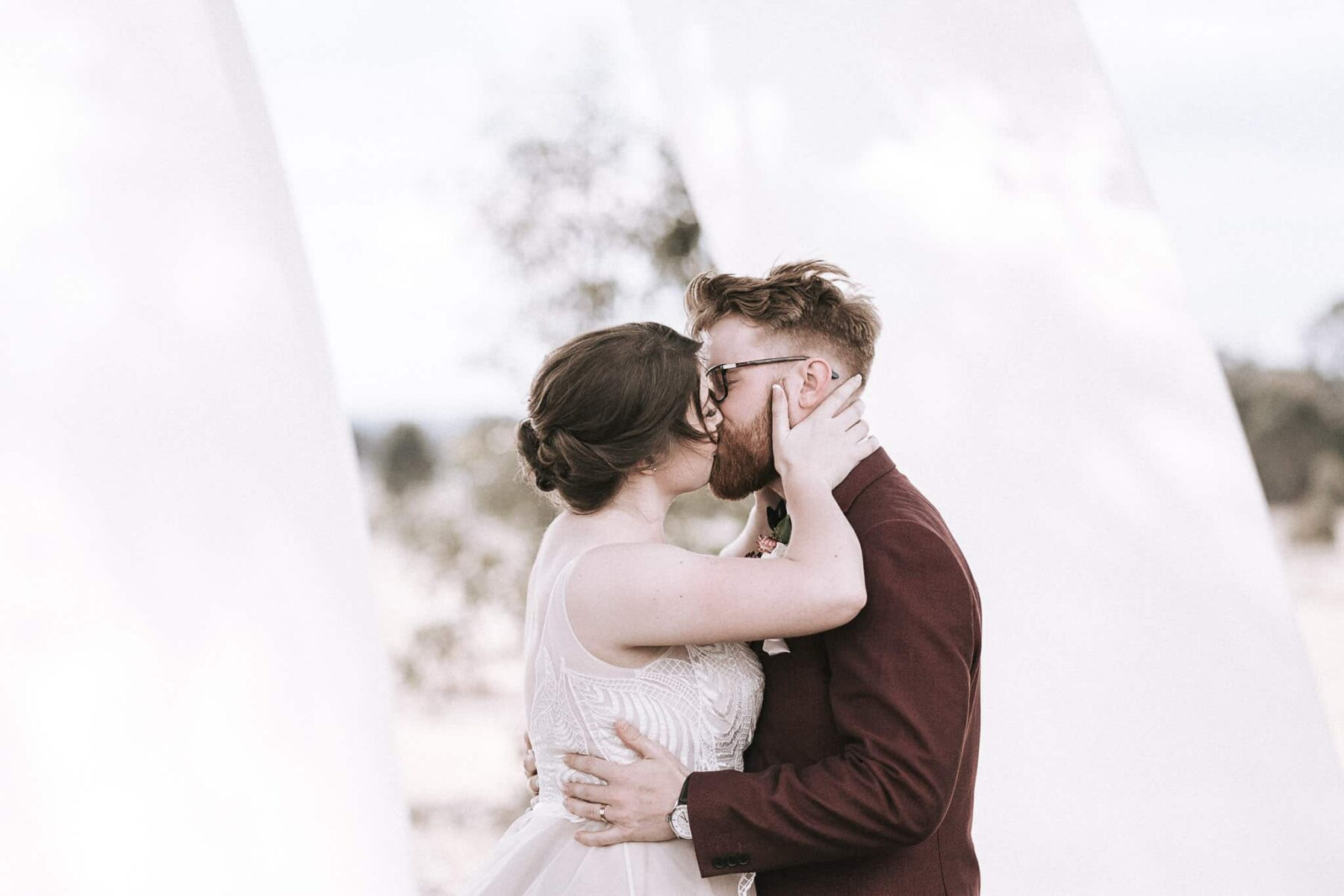 Down-to-earth Bendigo farm wedding - Caroline Sada Photography