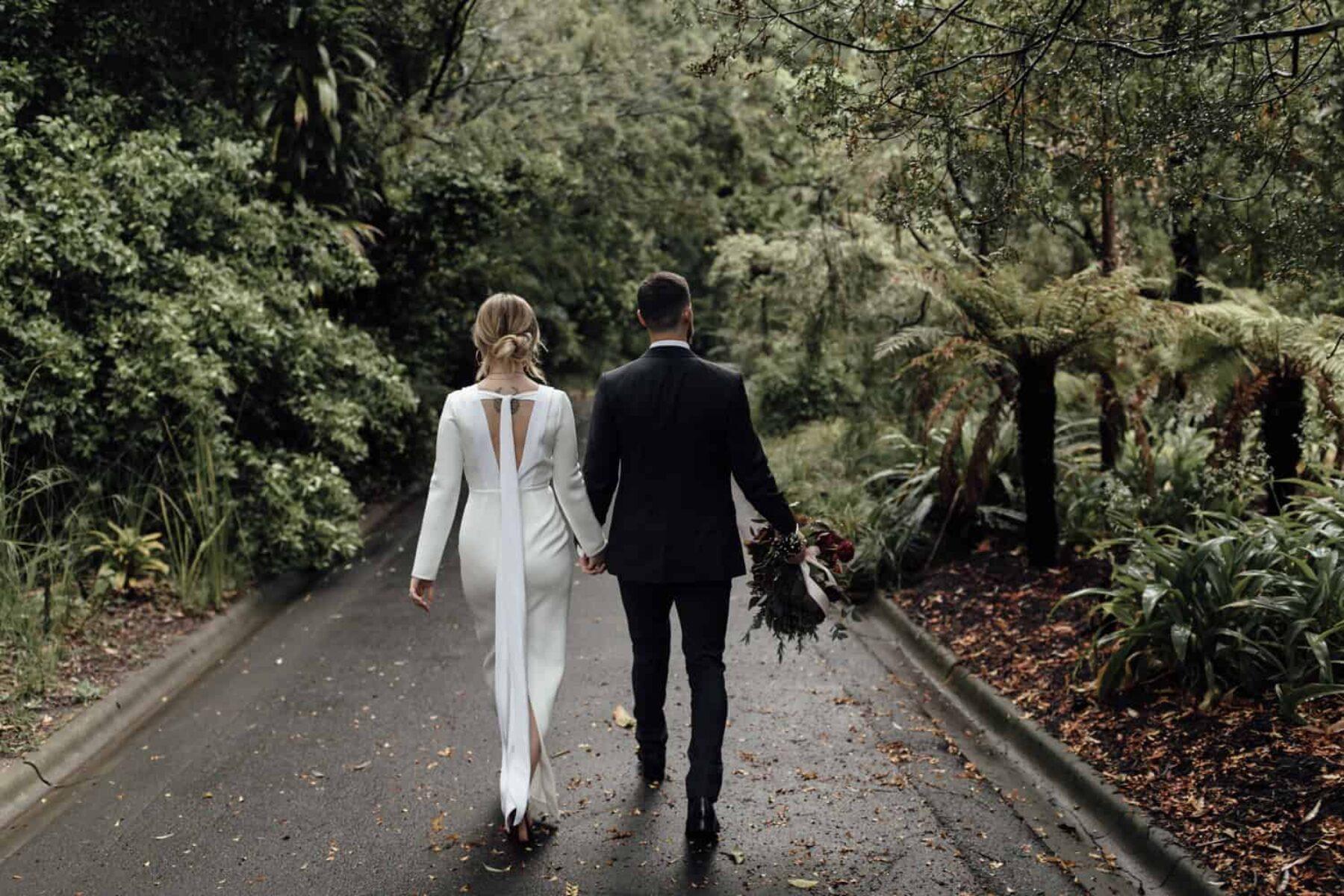 Botanic Gardens wedding Melbourne - Photography by Jimmy Raper