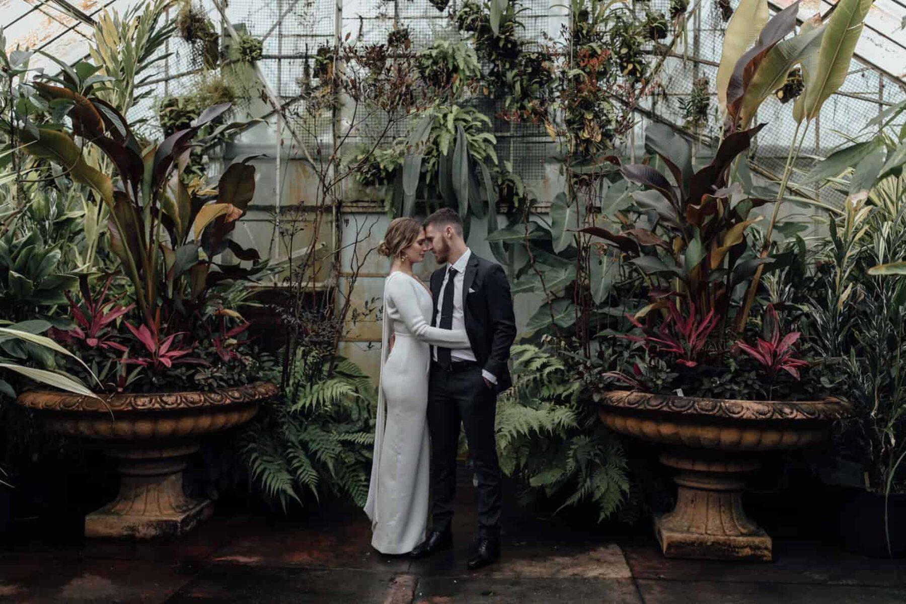 Melbourne glasshouse wedding - Jimmy Raper Photography