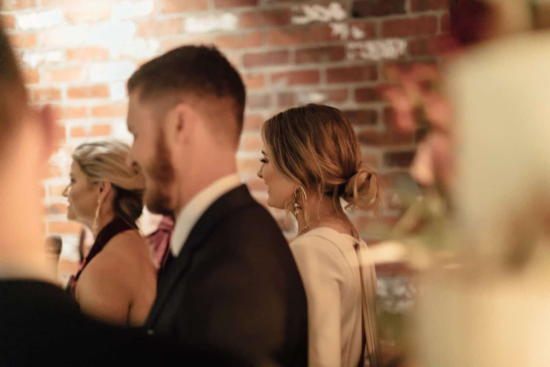 Modern, intimate Melbourne wedding at a Prahran cocktail bar - Photography by Jimmy Raper