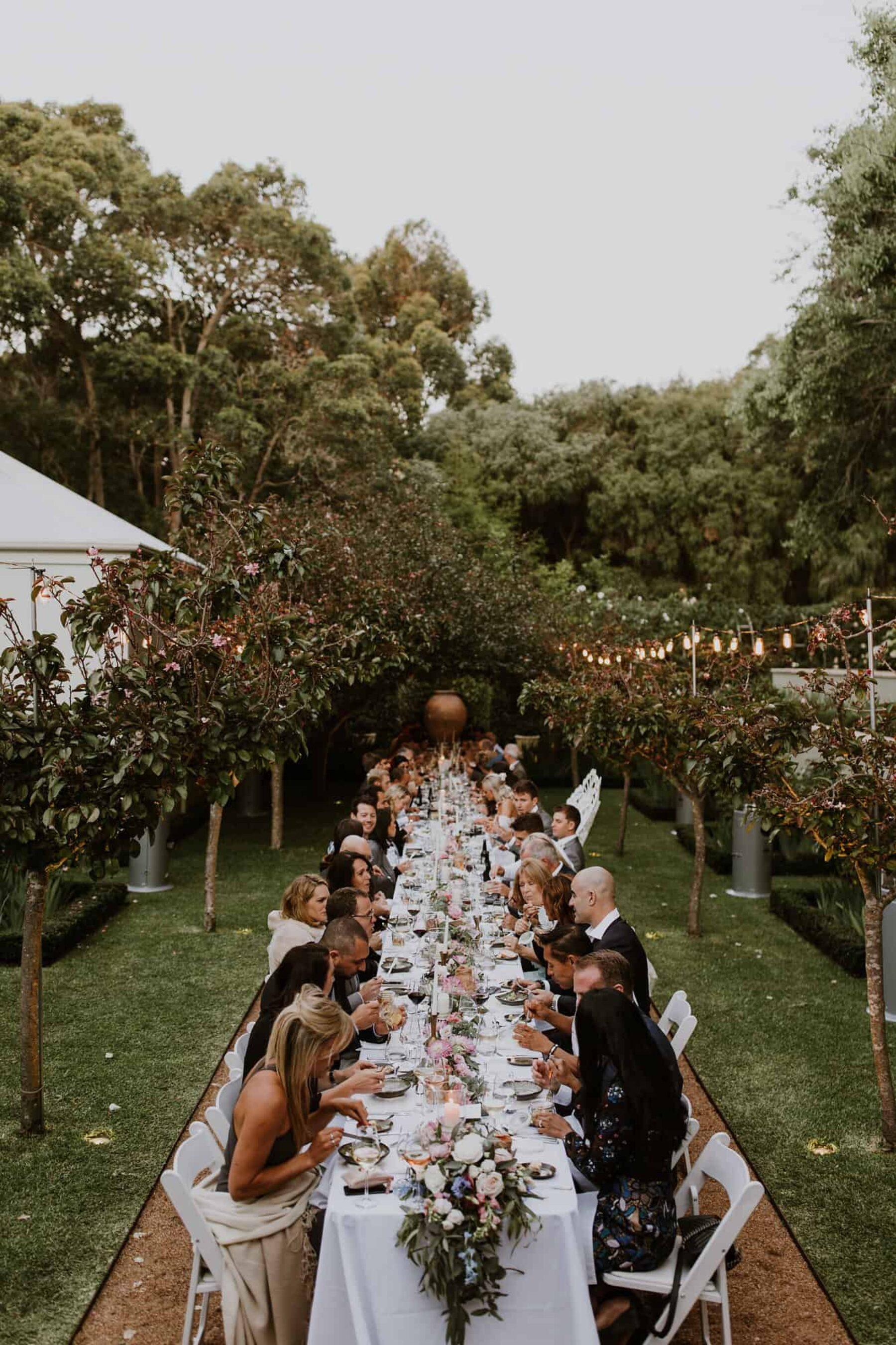Margaret River Secret Garden wedding
