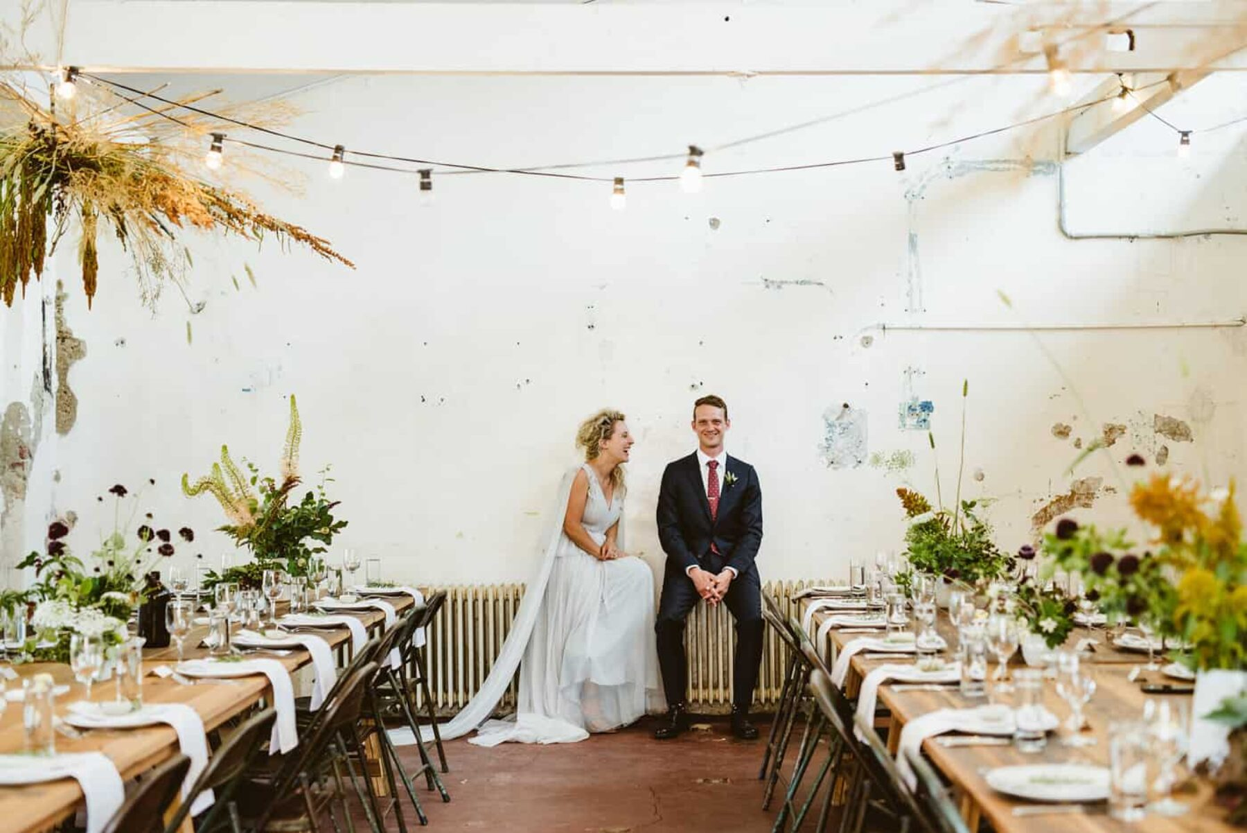 Grace & John's organic wedding at Butterland, VIC - photography by Motta Weddings