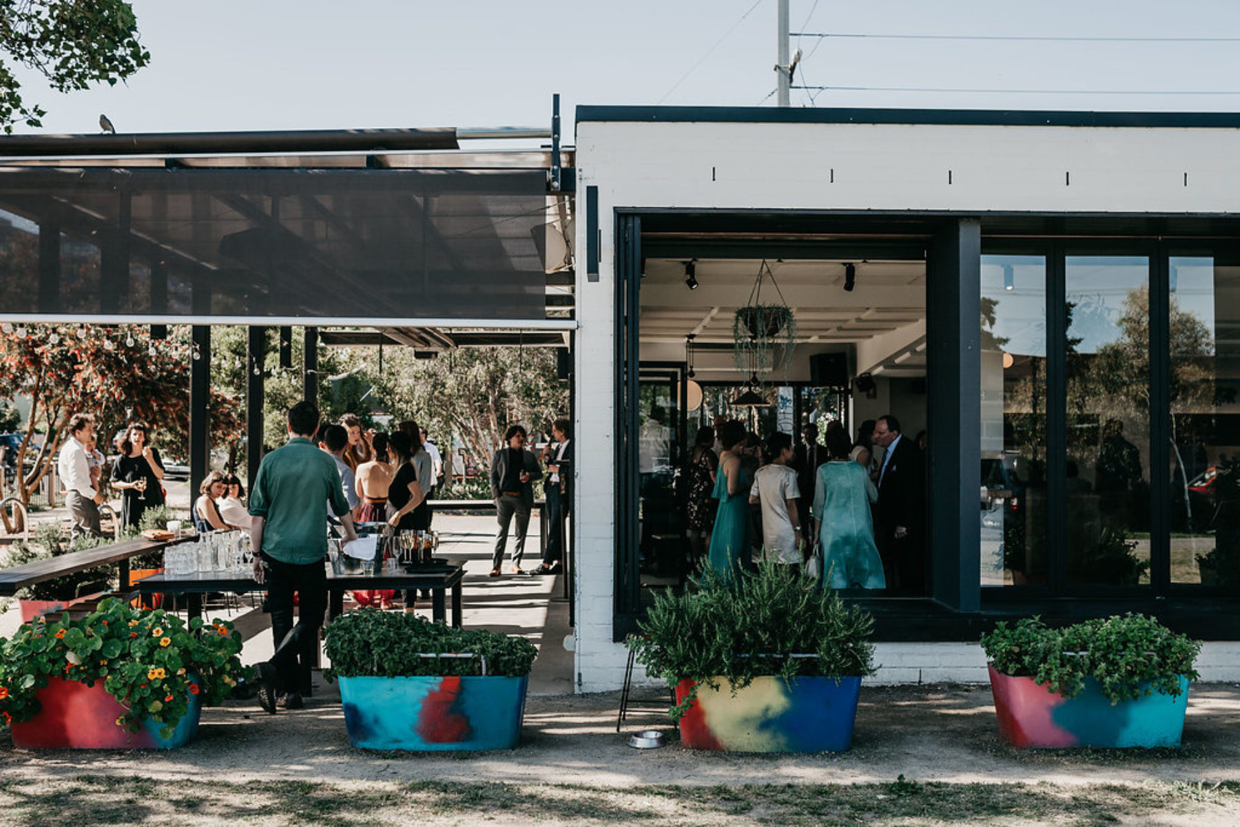 Park St. Melbourne cafe wedding venue Carlton
