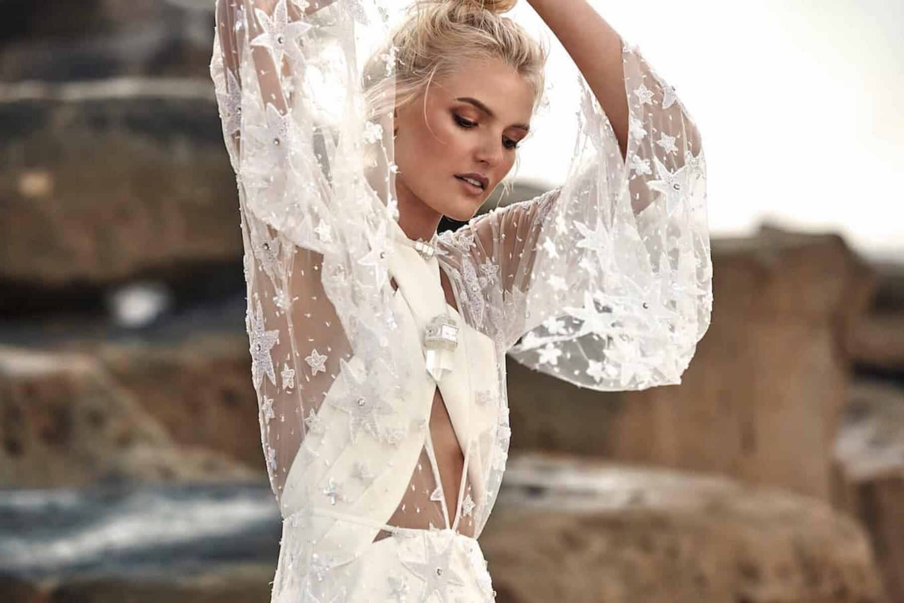 'Moonlight Magic' 2018 bridal collection by Rue de Seine