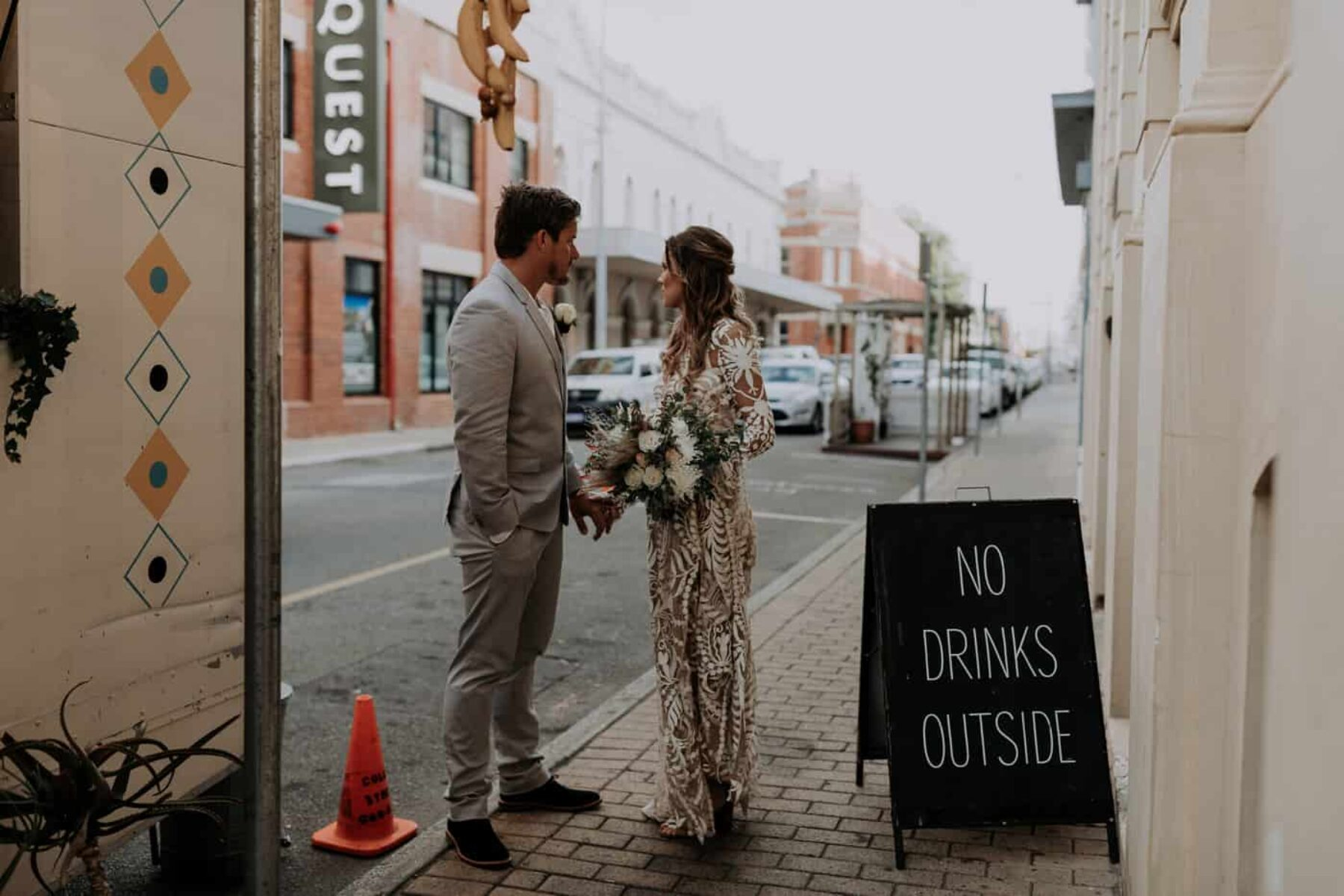 Fremantle wedding at Distribution Lane