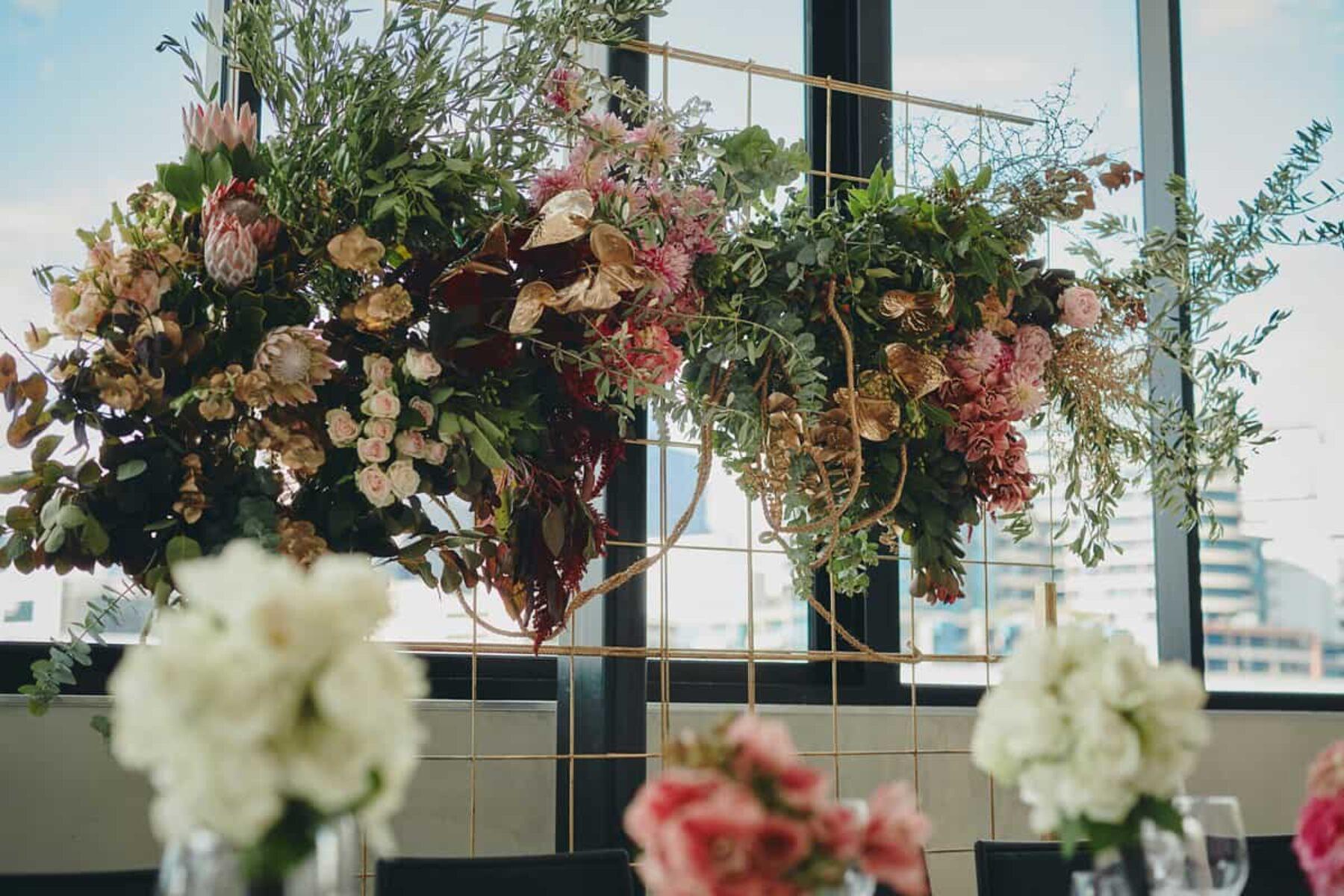 Creative Melbourne wedding florist Pomp & Splendour