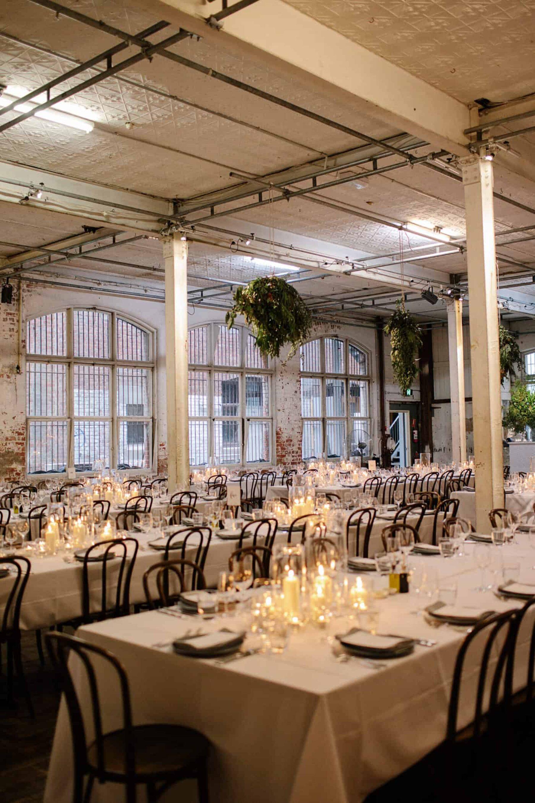 Luke Amp Phoebe S Warehouse Wedding At Fortyfive Downstairs
