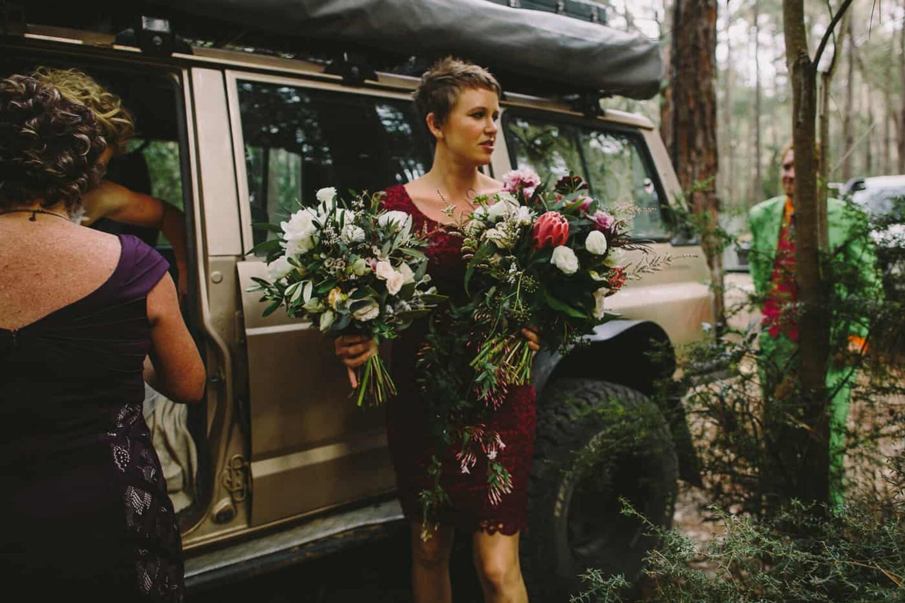 Adventure-filled Watagans forest wedding NSW
